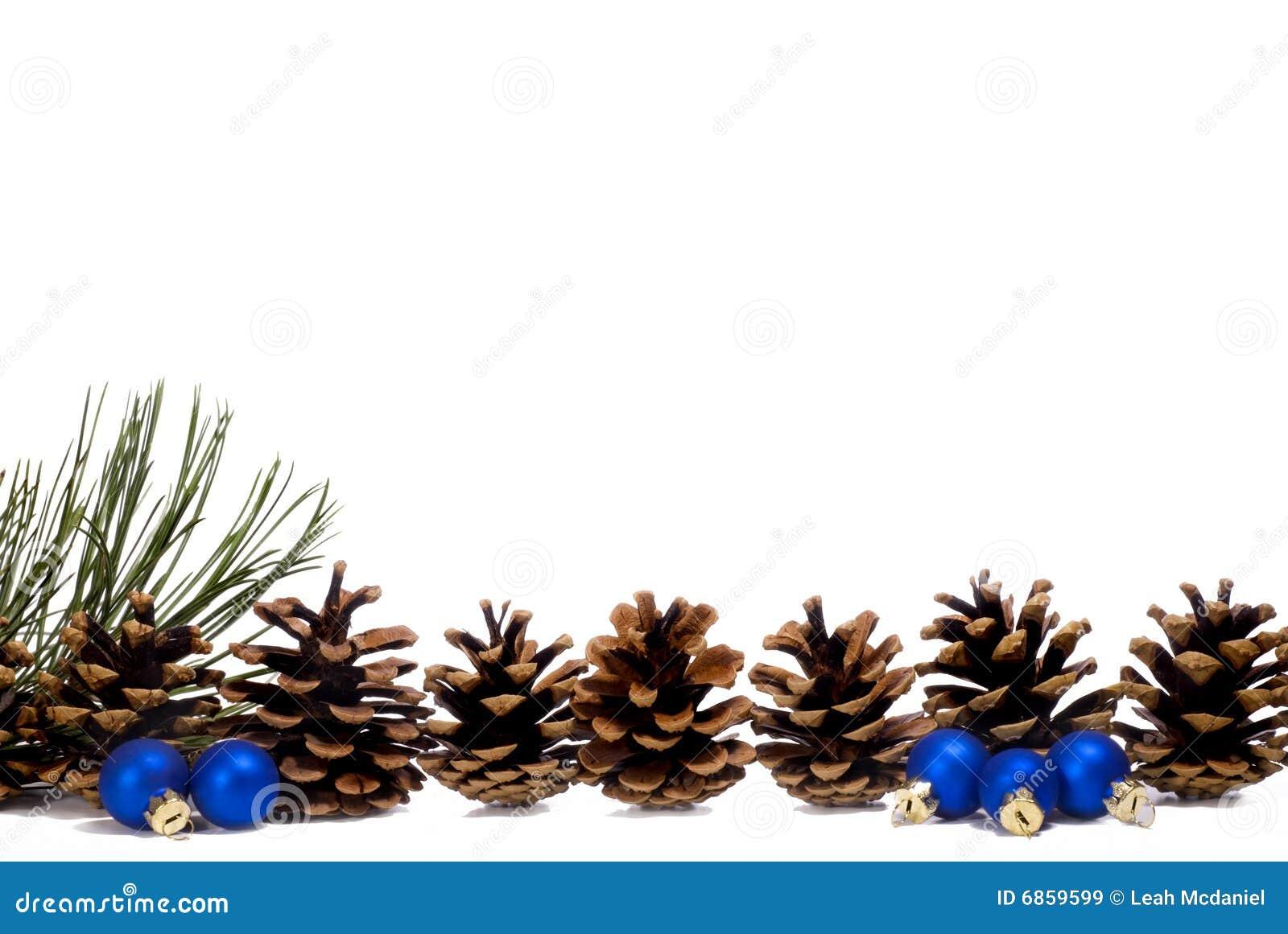 голубая компановка конуса орнаментирует сосенку малую