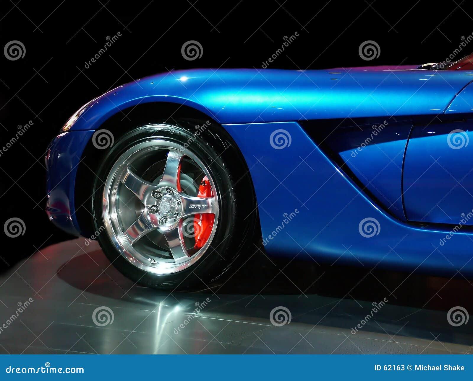 голубая мышца
