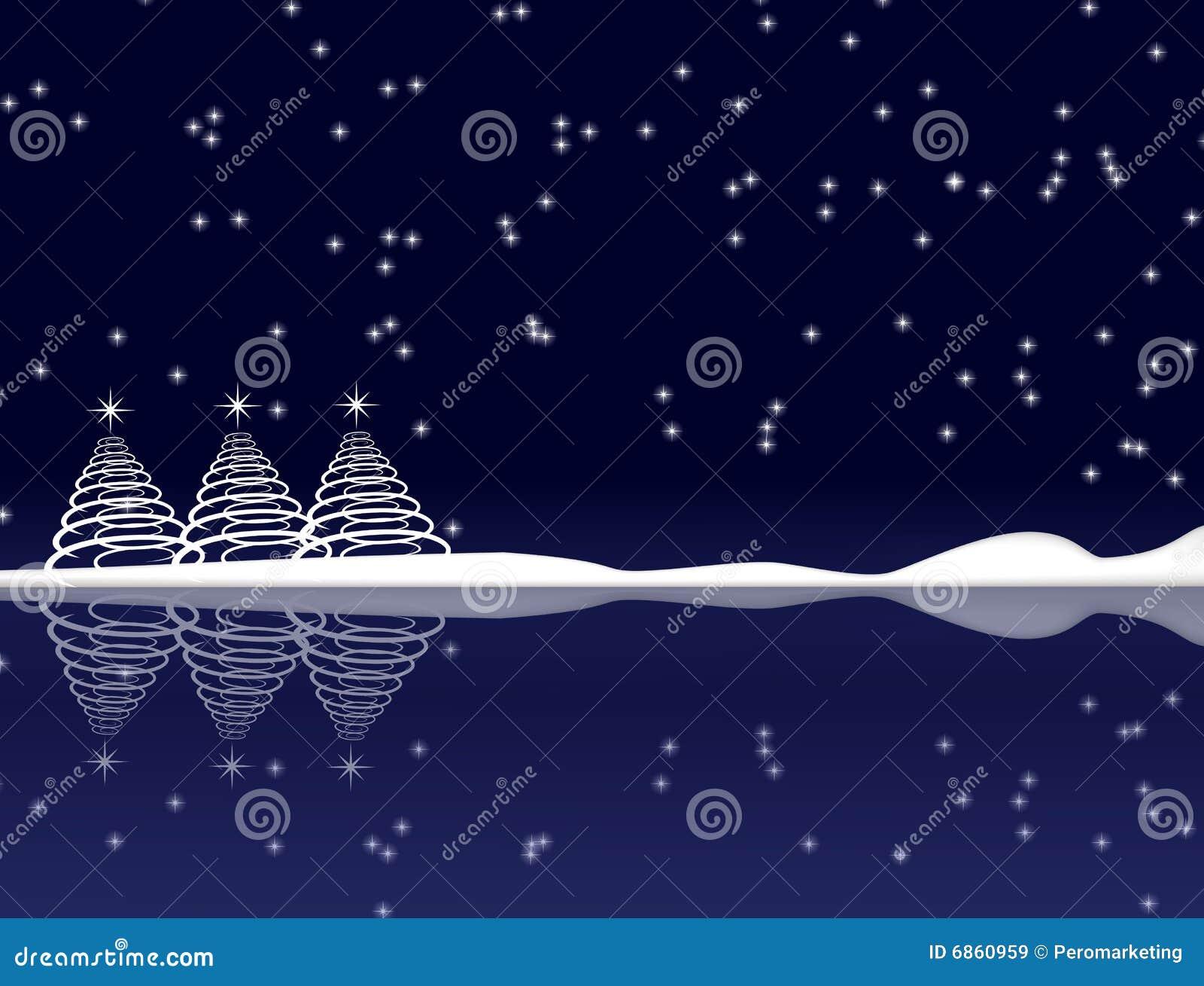 голубая ноча рождества