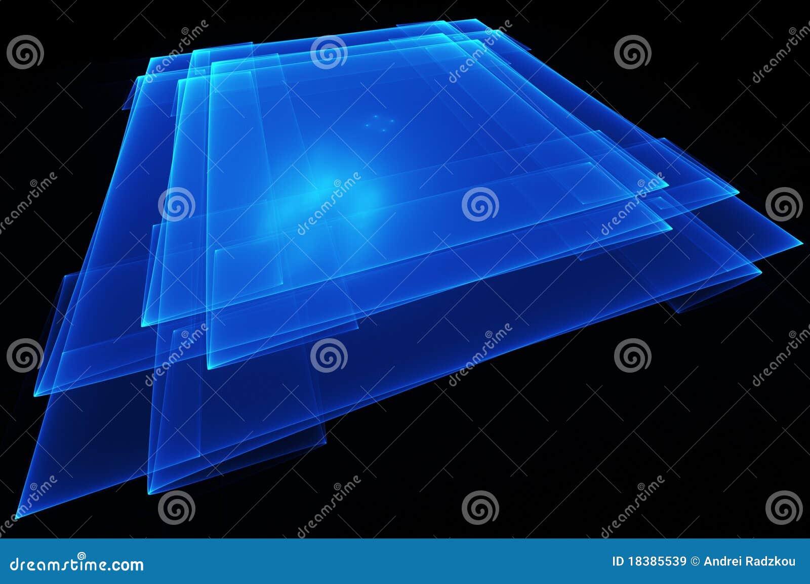 голубая плита просвечивающая