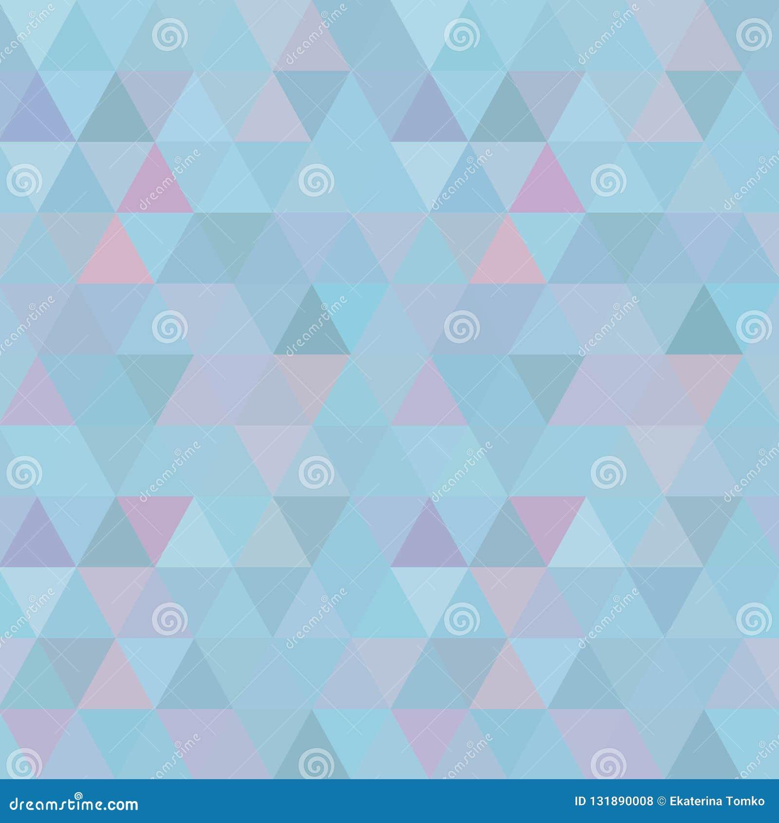 Голубая предпосылка мозаики решетки, творческие шаблоны дизайна