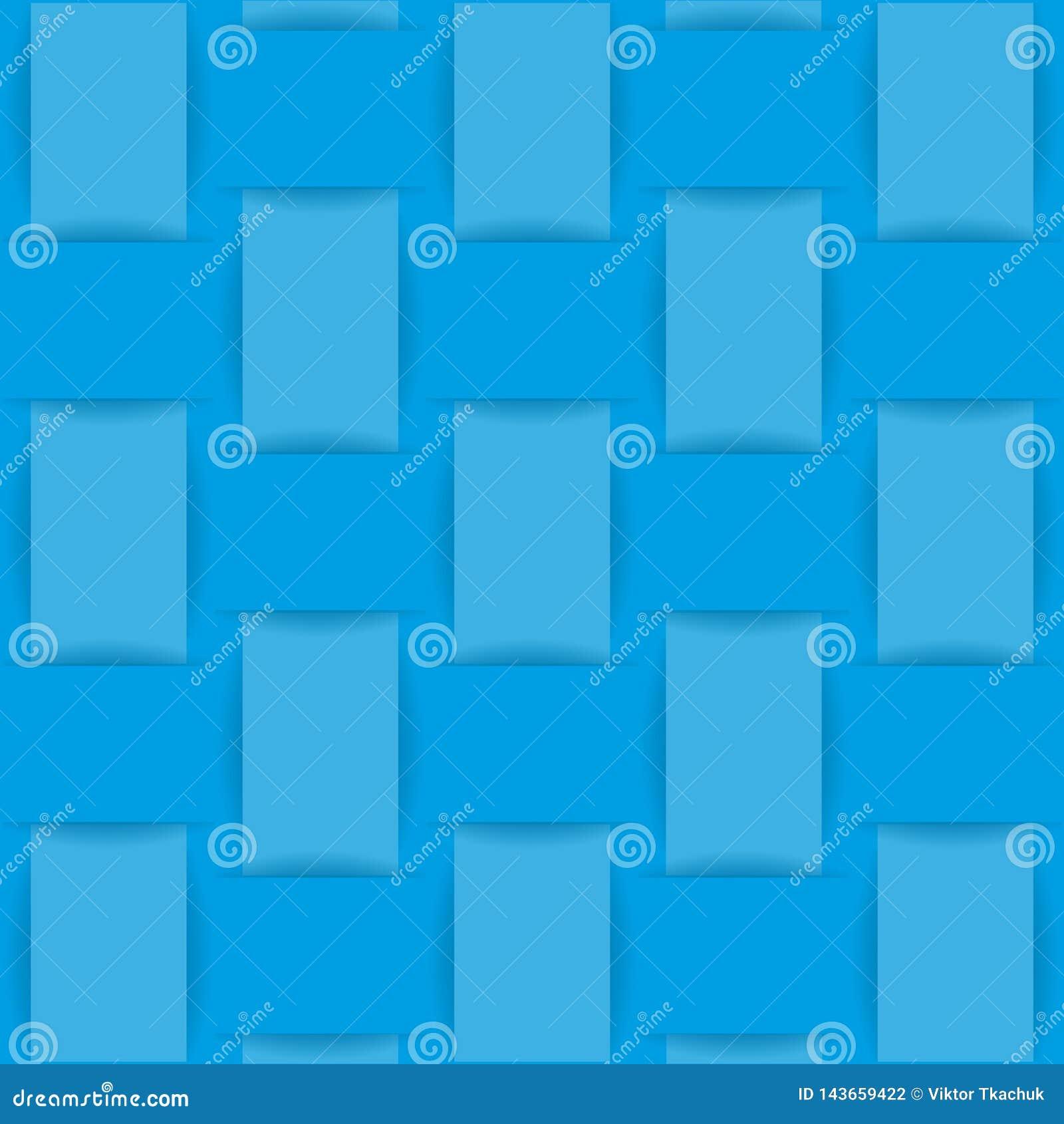 Голубая предпосылка сплетенной ткани или бумаги