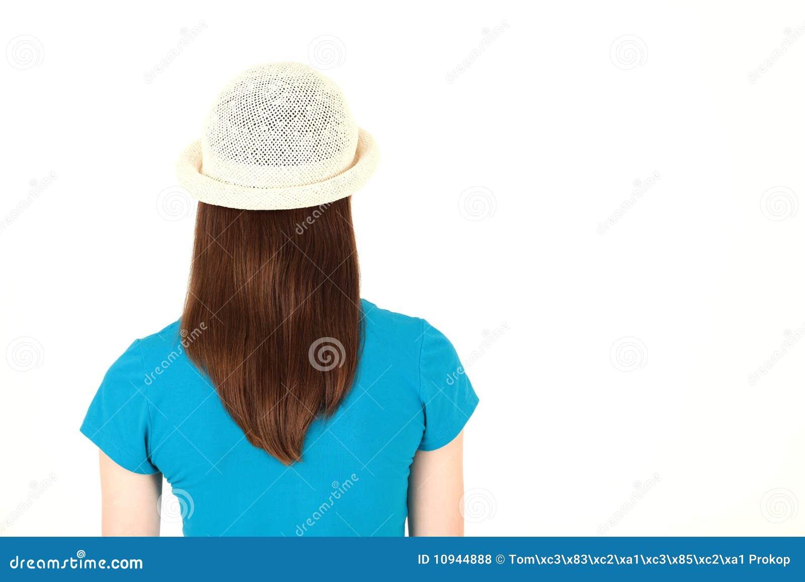 голубая рубашка девушки подростковая