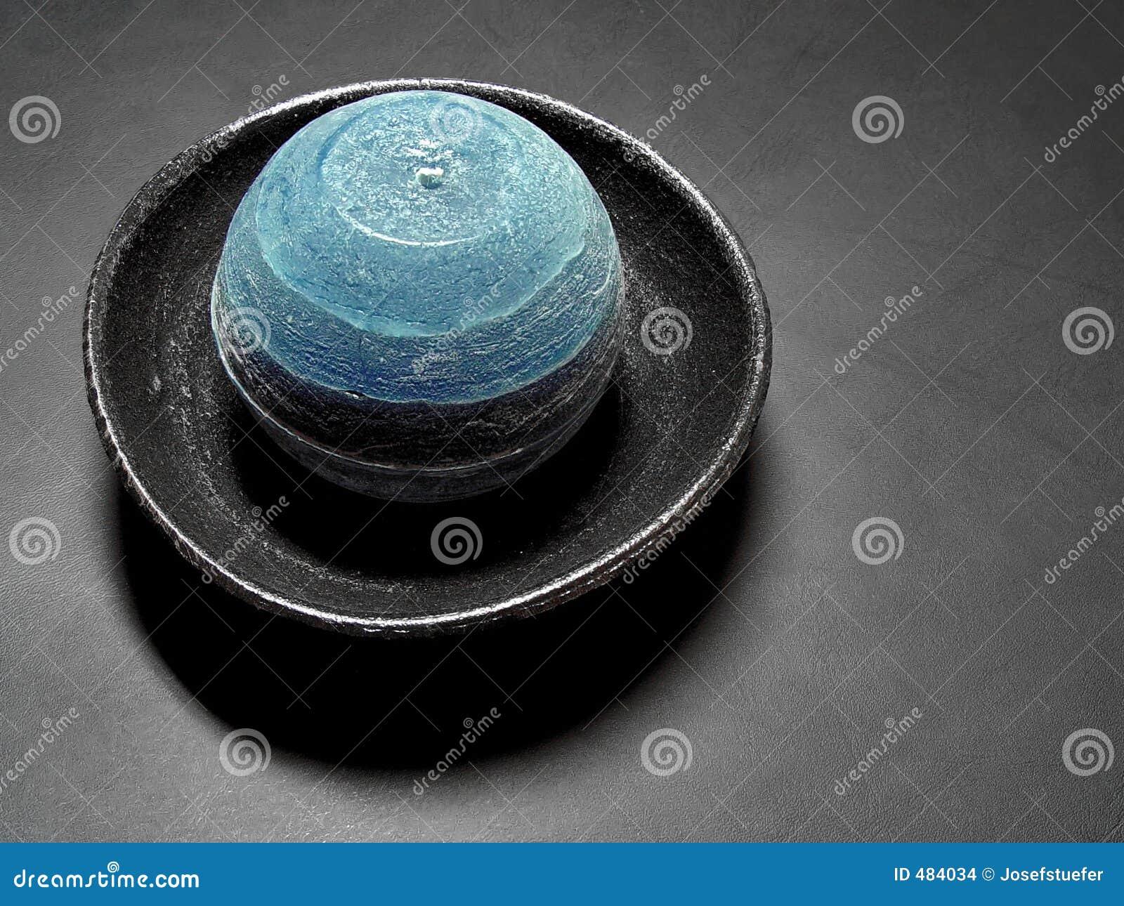 голубая свечка