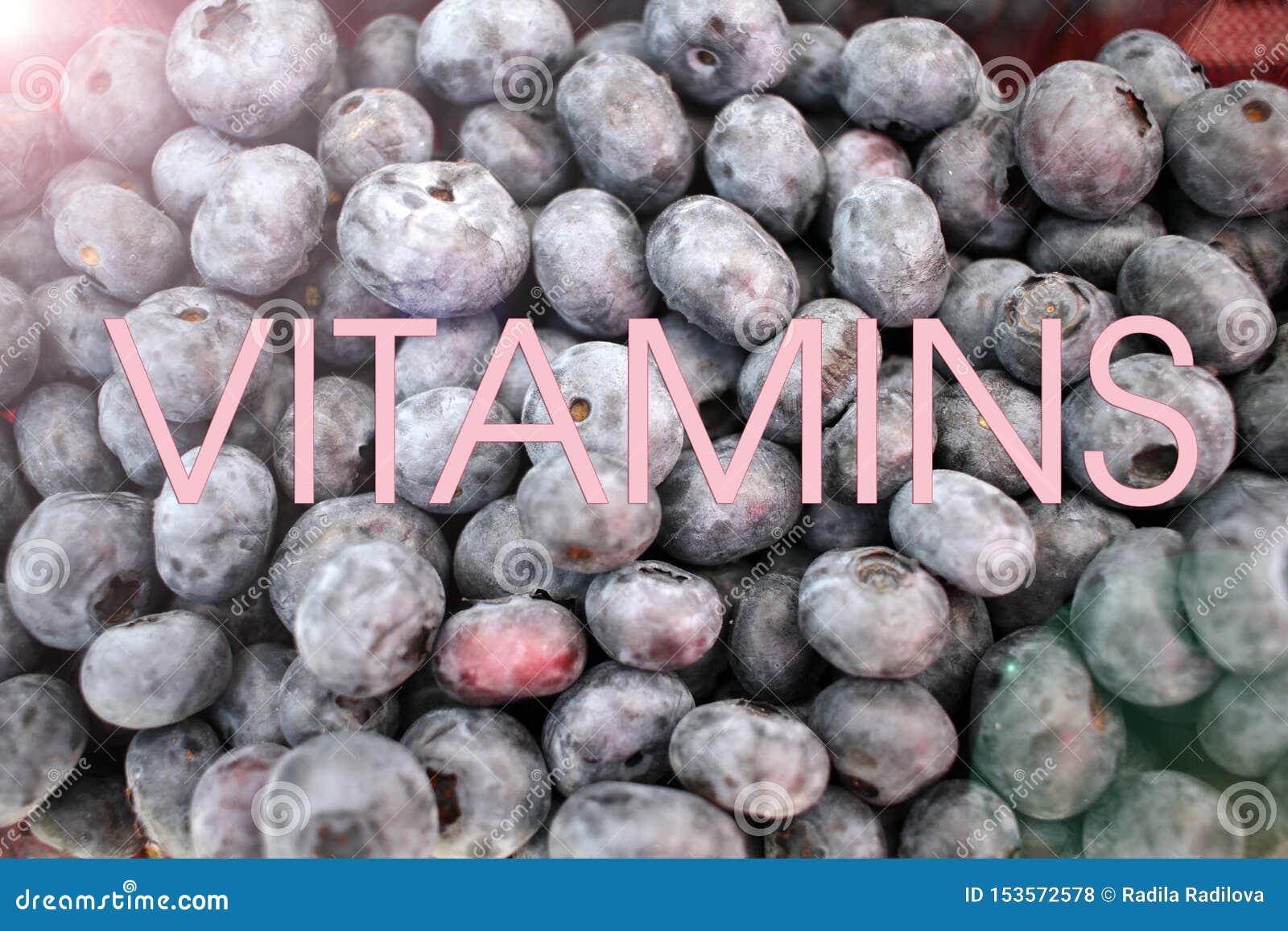 Голубика Текстура предпосылки голубик Полная рамка плодов Витамины и концепция диеты r vegetarian
