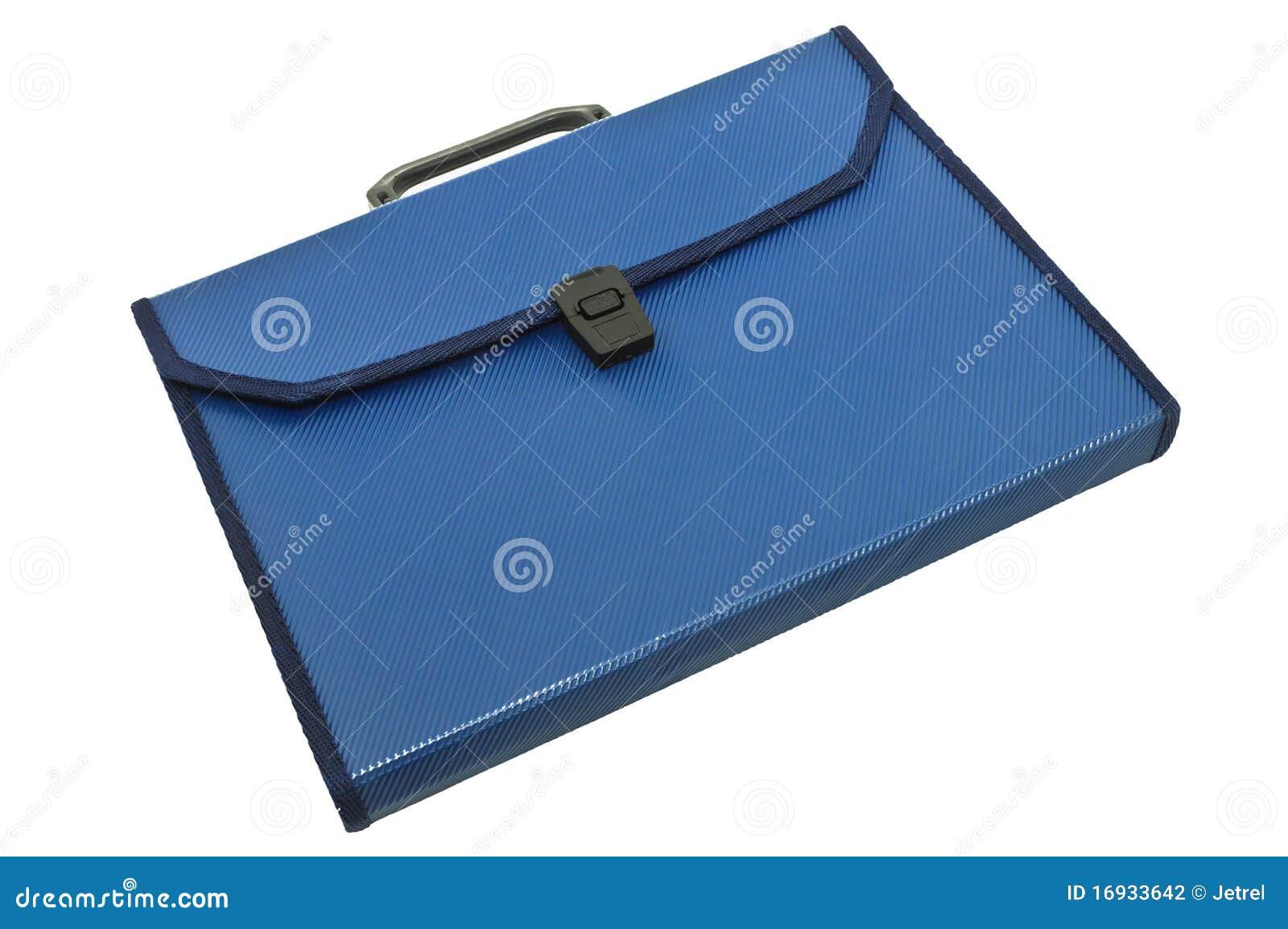голубое пластичное портфолио