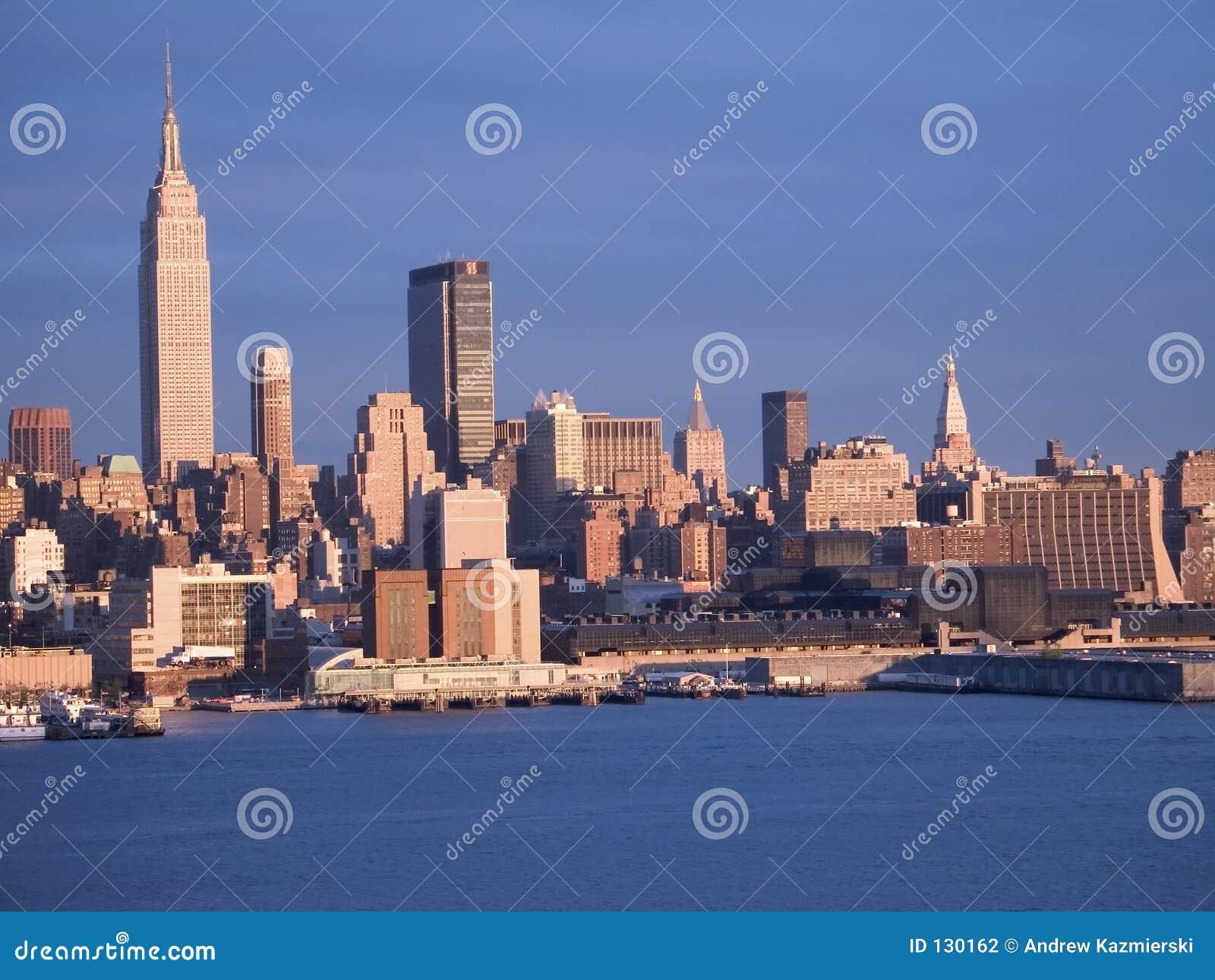 голубое New York