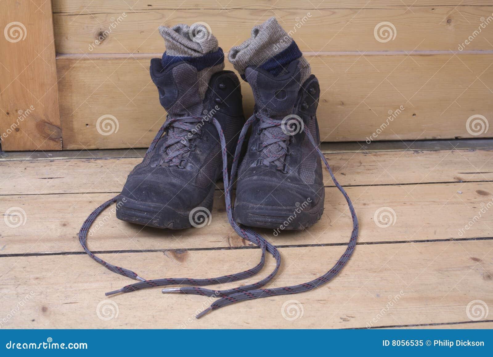голубой гулять ботинок