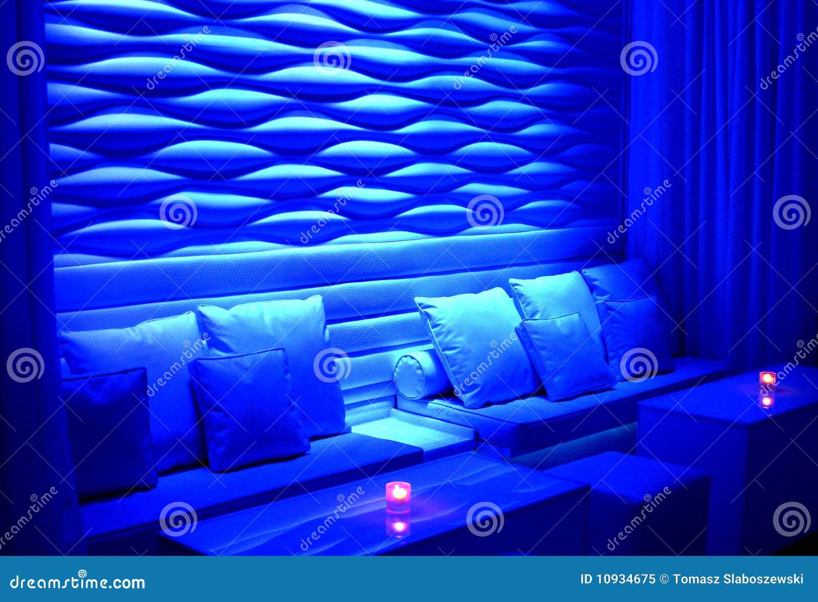голубой плотный seating