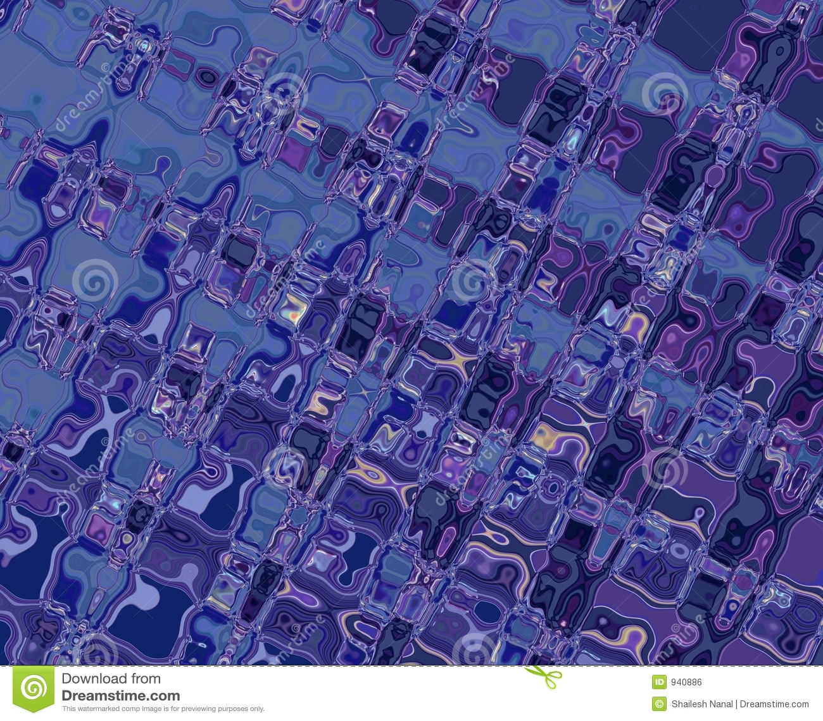голубые картины пурпуровые