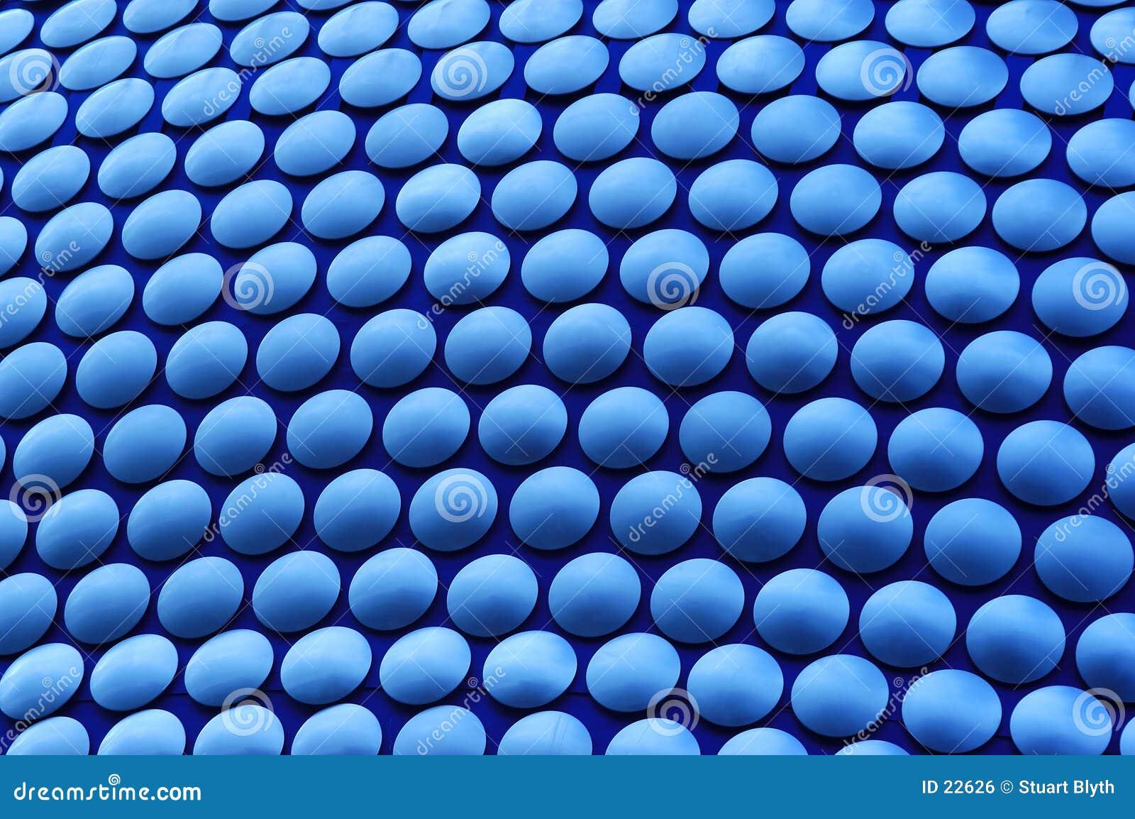 голубые круги