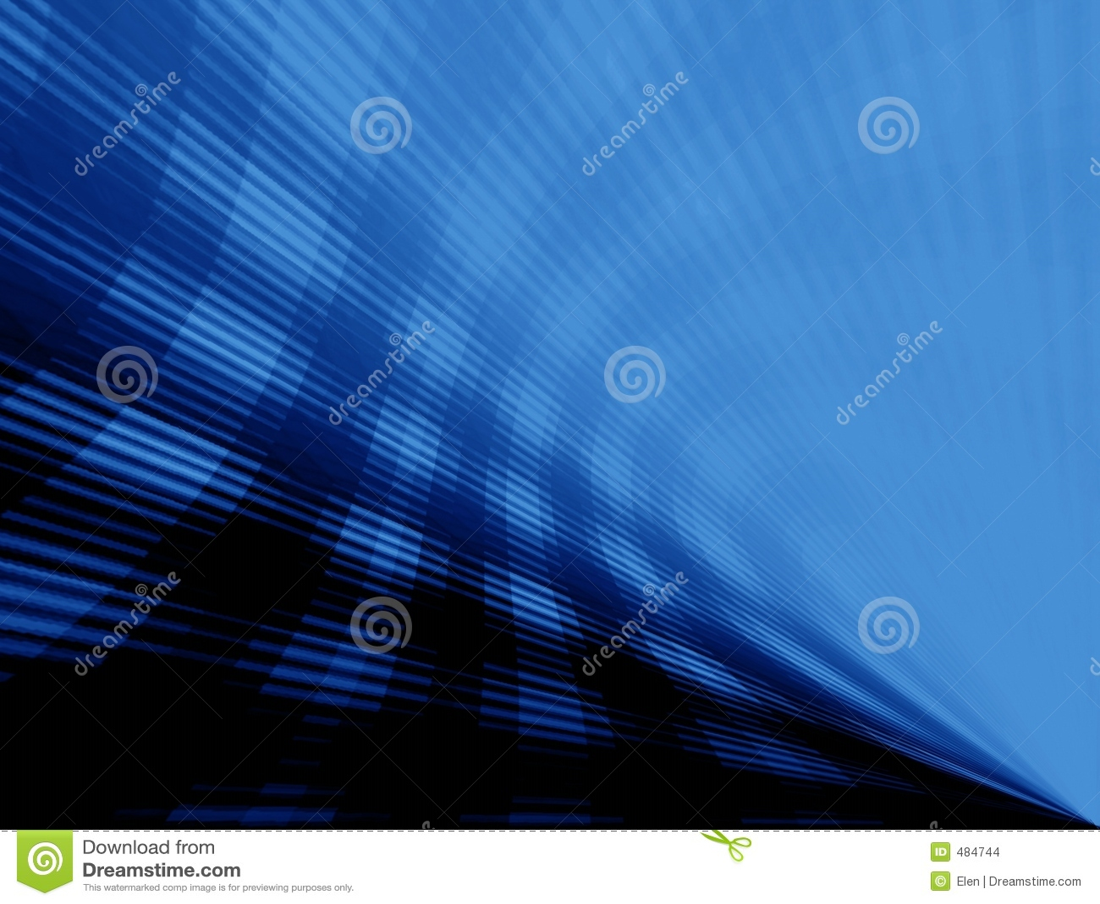 голубые лучи