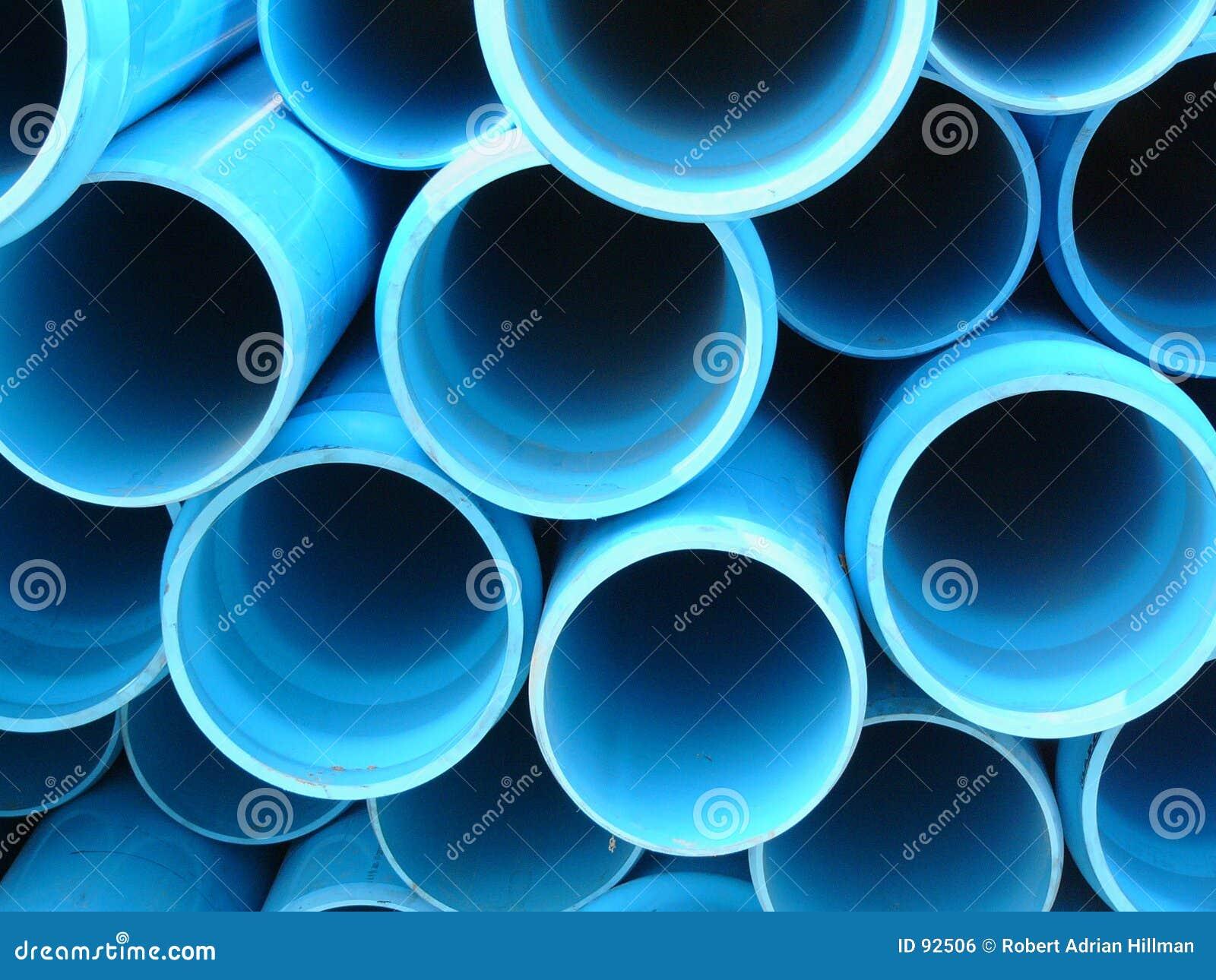 голубые трубы