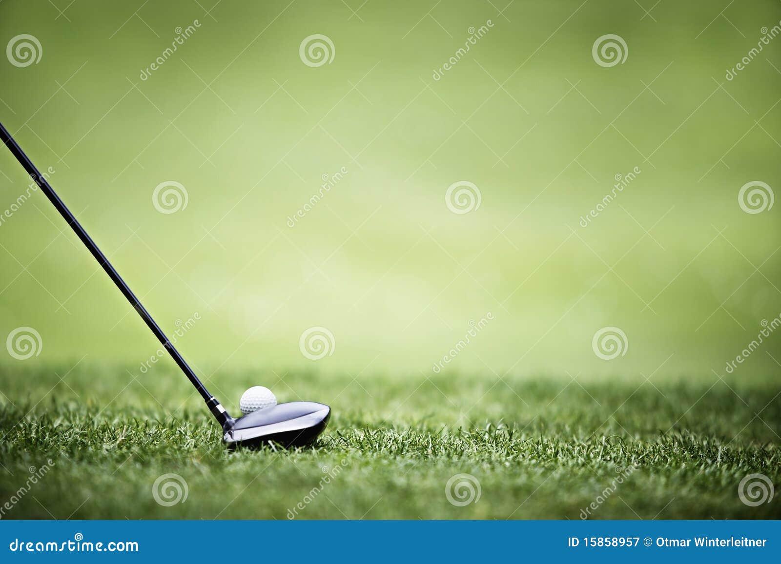 гольф водителя шарика предпосылки