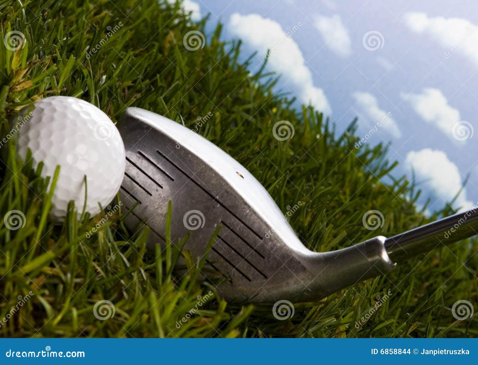 гольф водителя шарика