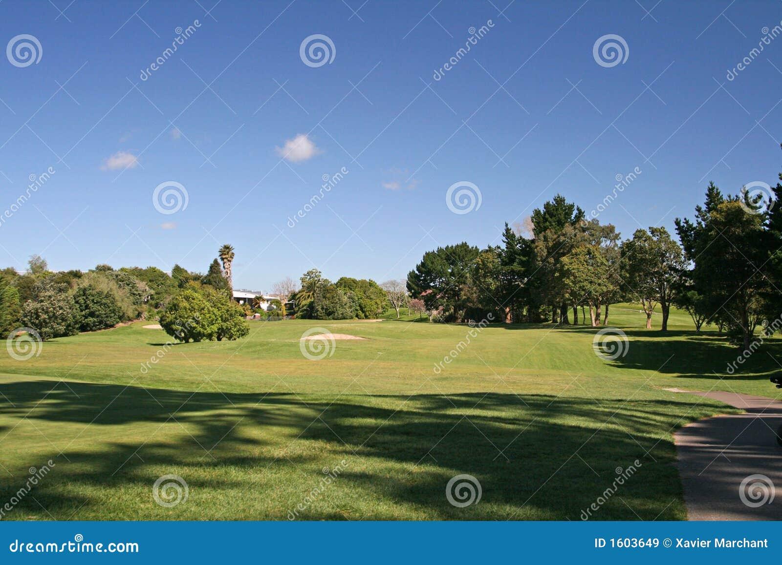 гольф курса дзота