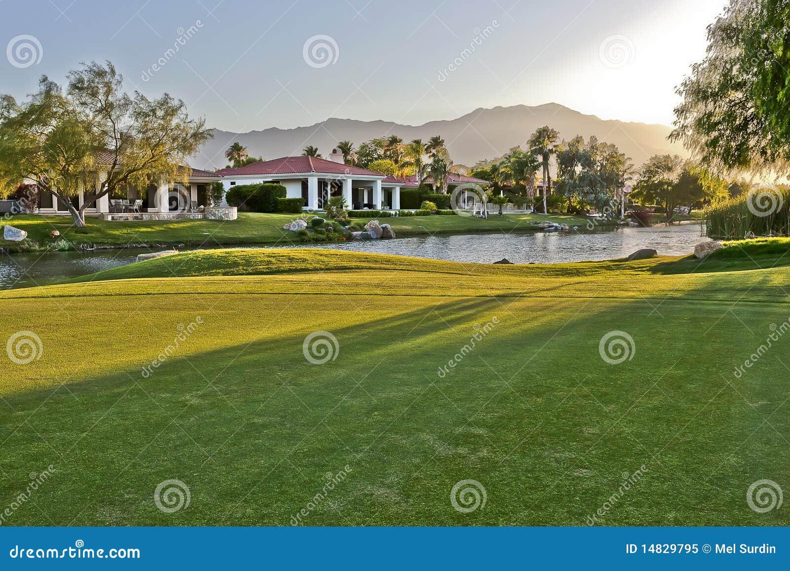 гольф курса самонаводит Палм Спринг