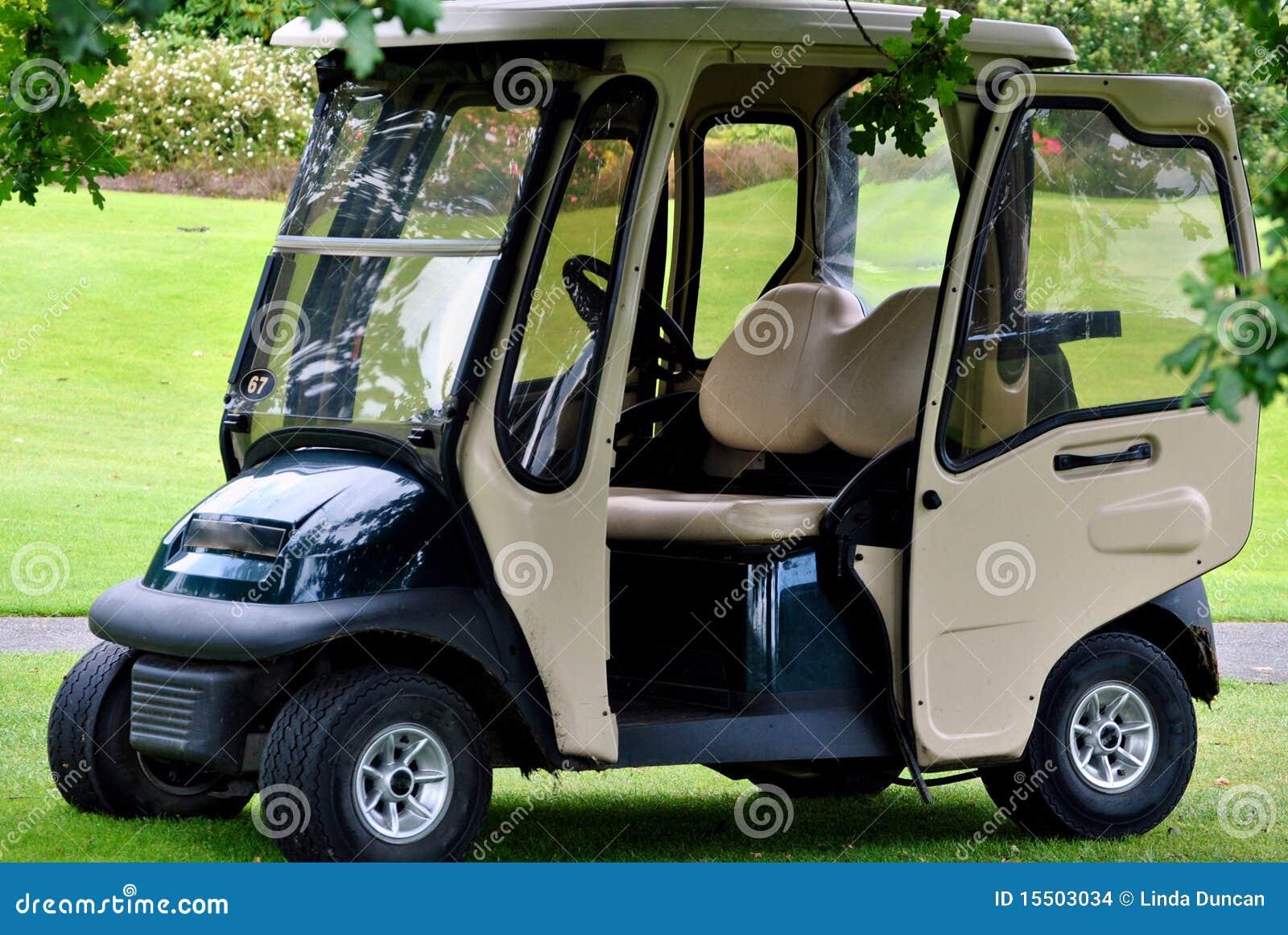 гольф тележки