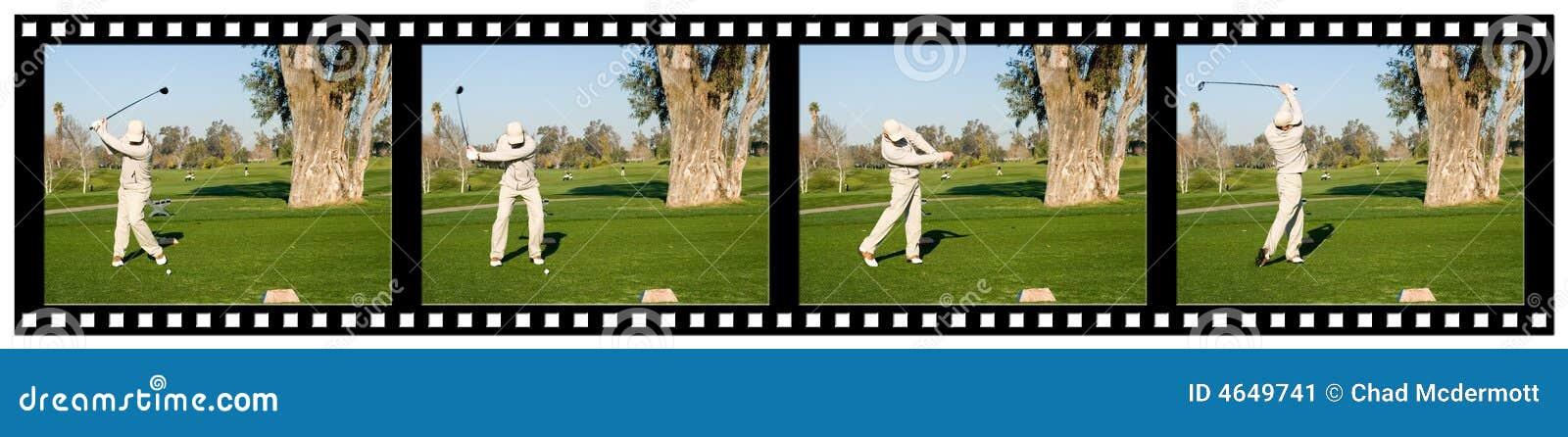 гольф filmstrip