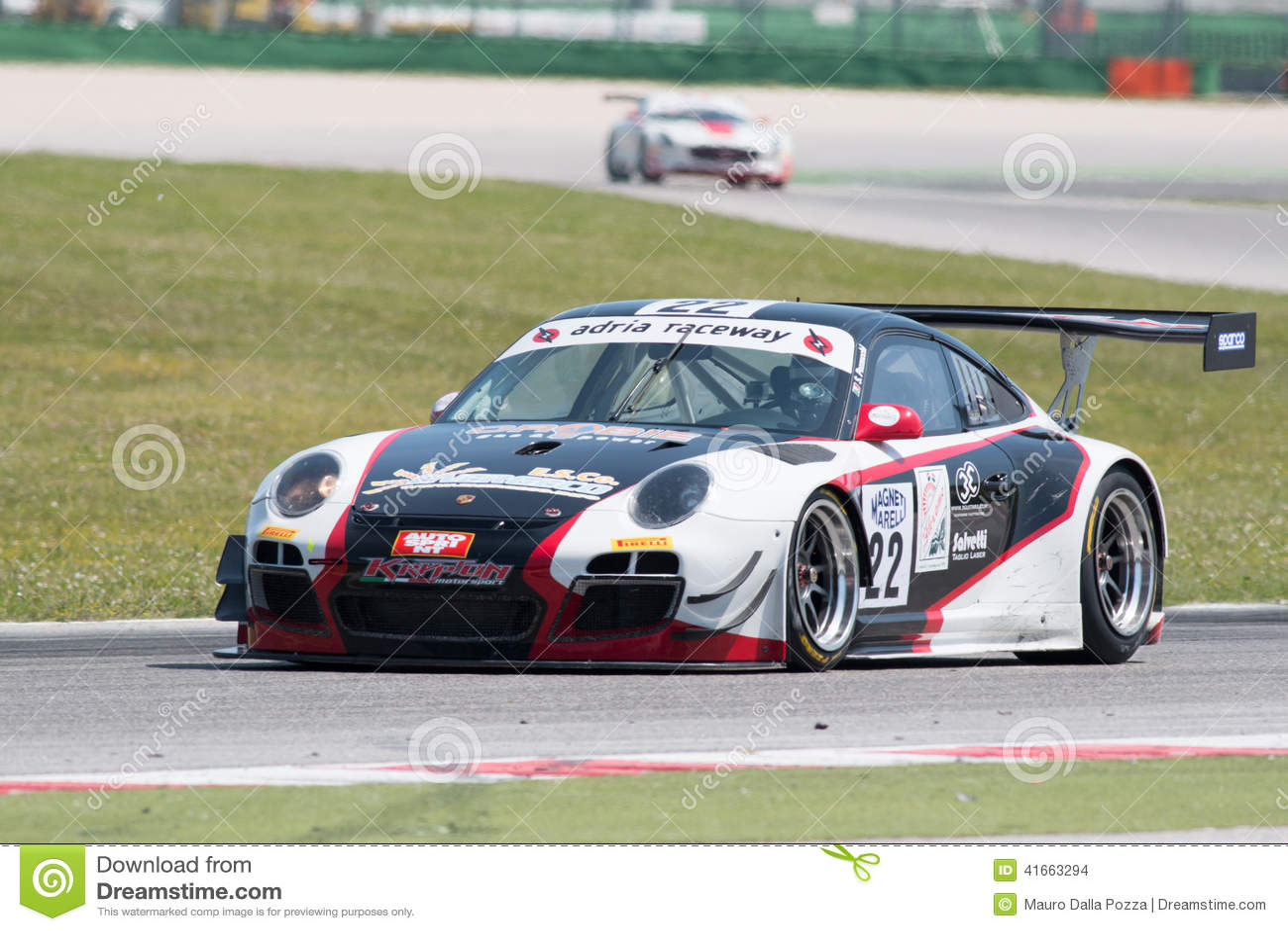 Гоночная машина GT3 ПОРШЕ 997