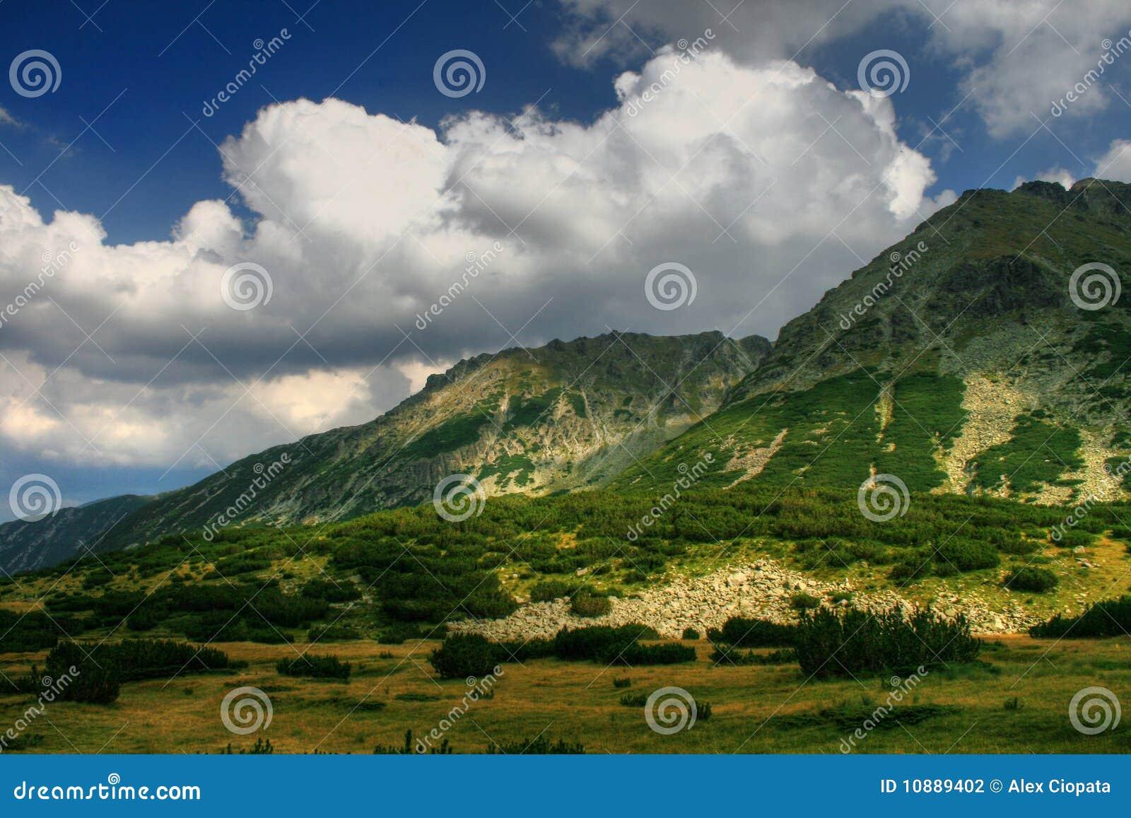 гора ландшафта