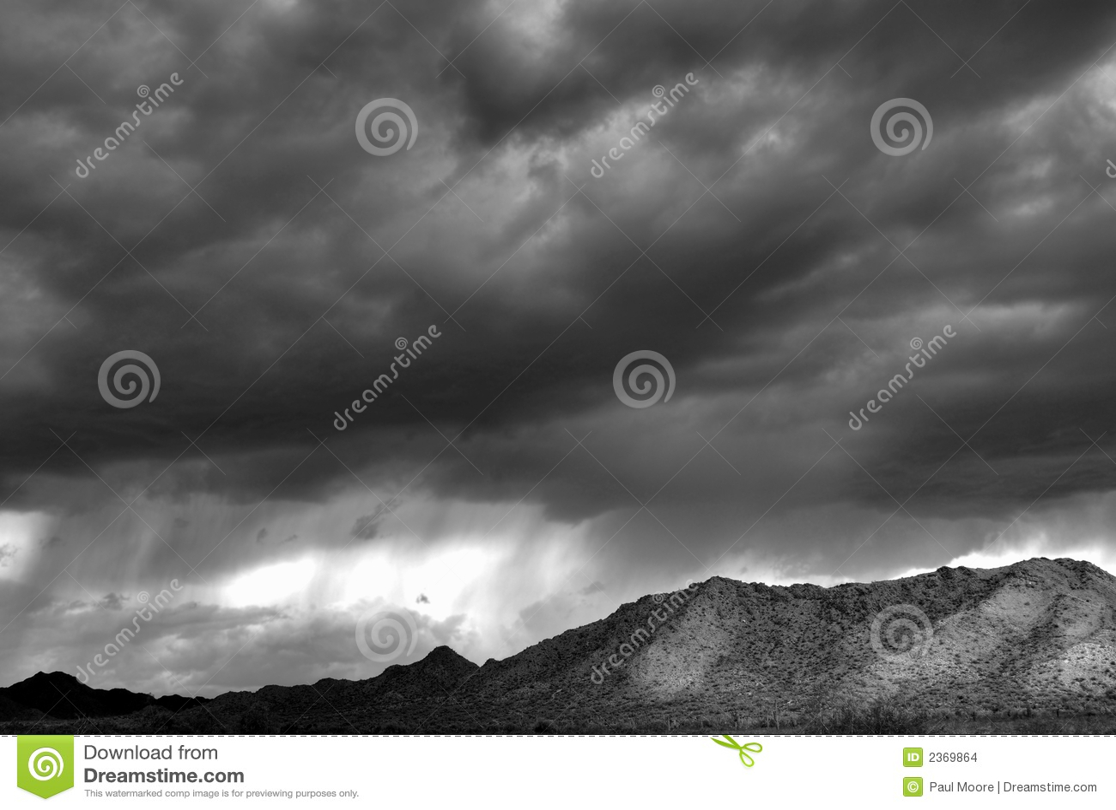 гора пустыни