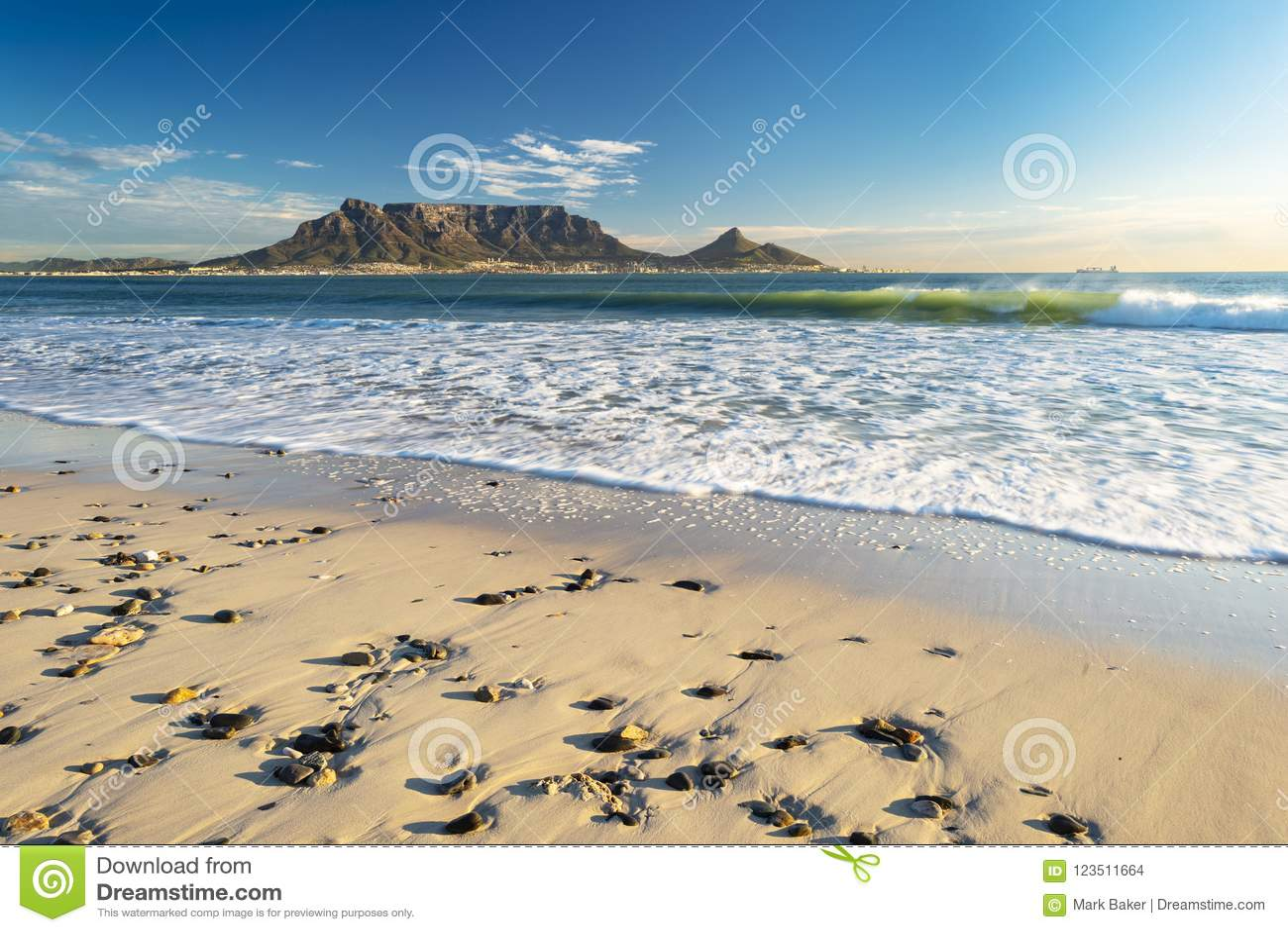 Гора таблицы в Кейптауне
