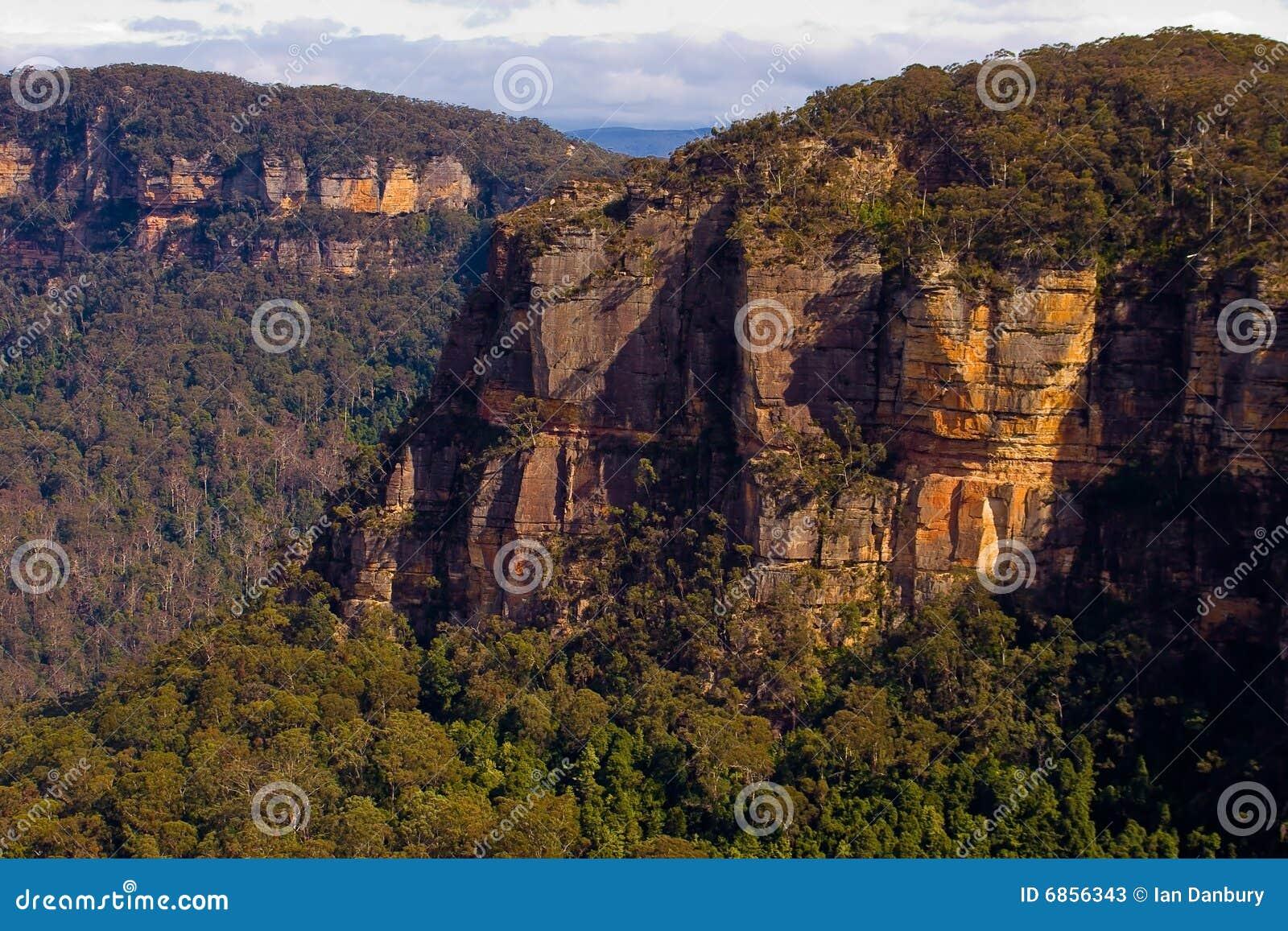 гора katoomba блефа