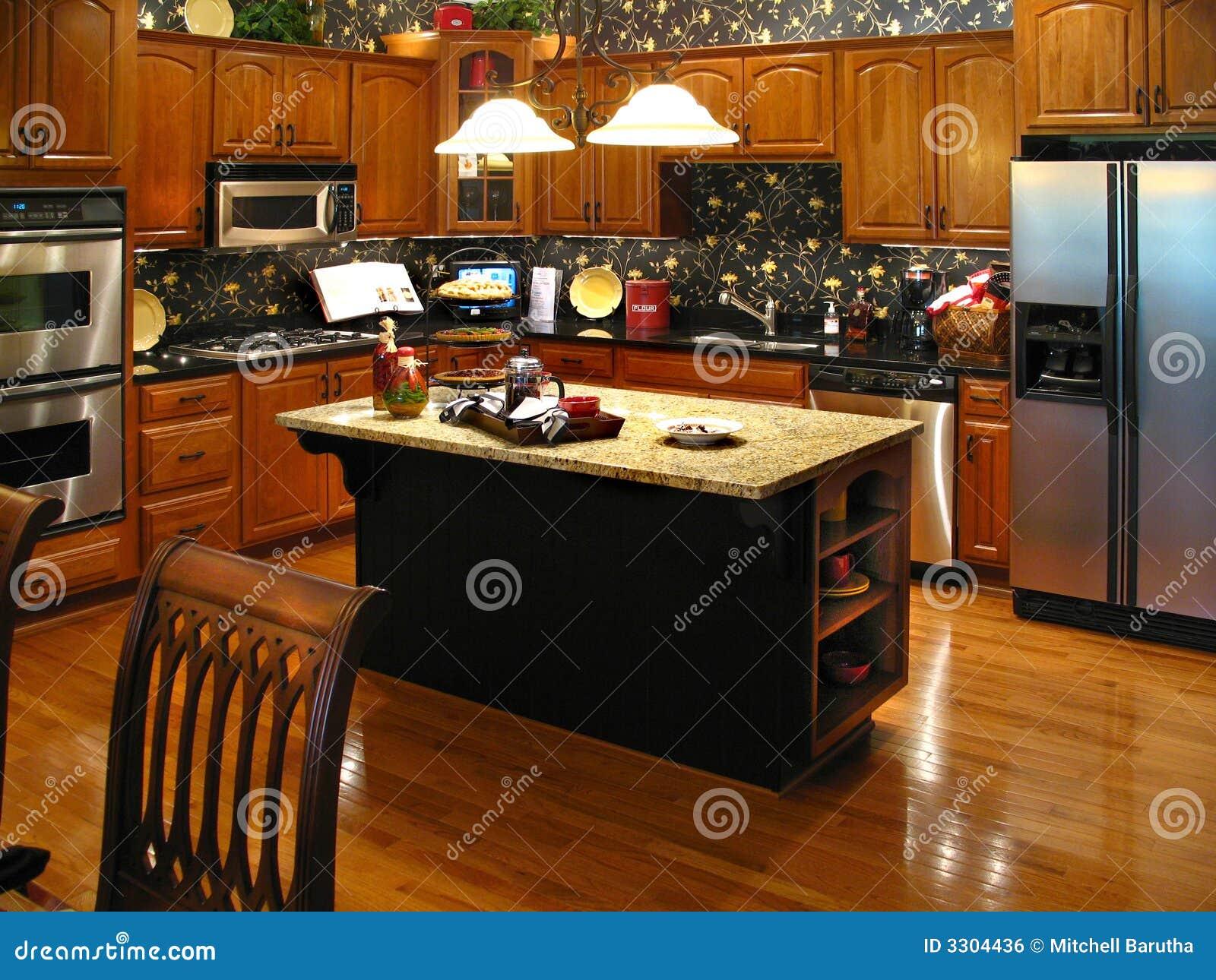 горизонтальная кухня высококачественная