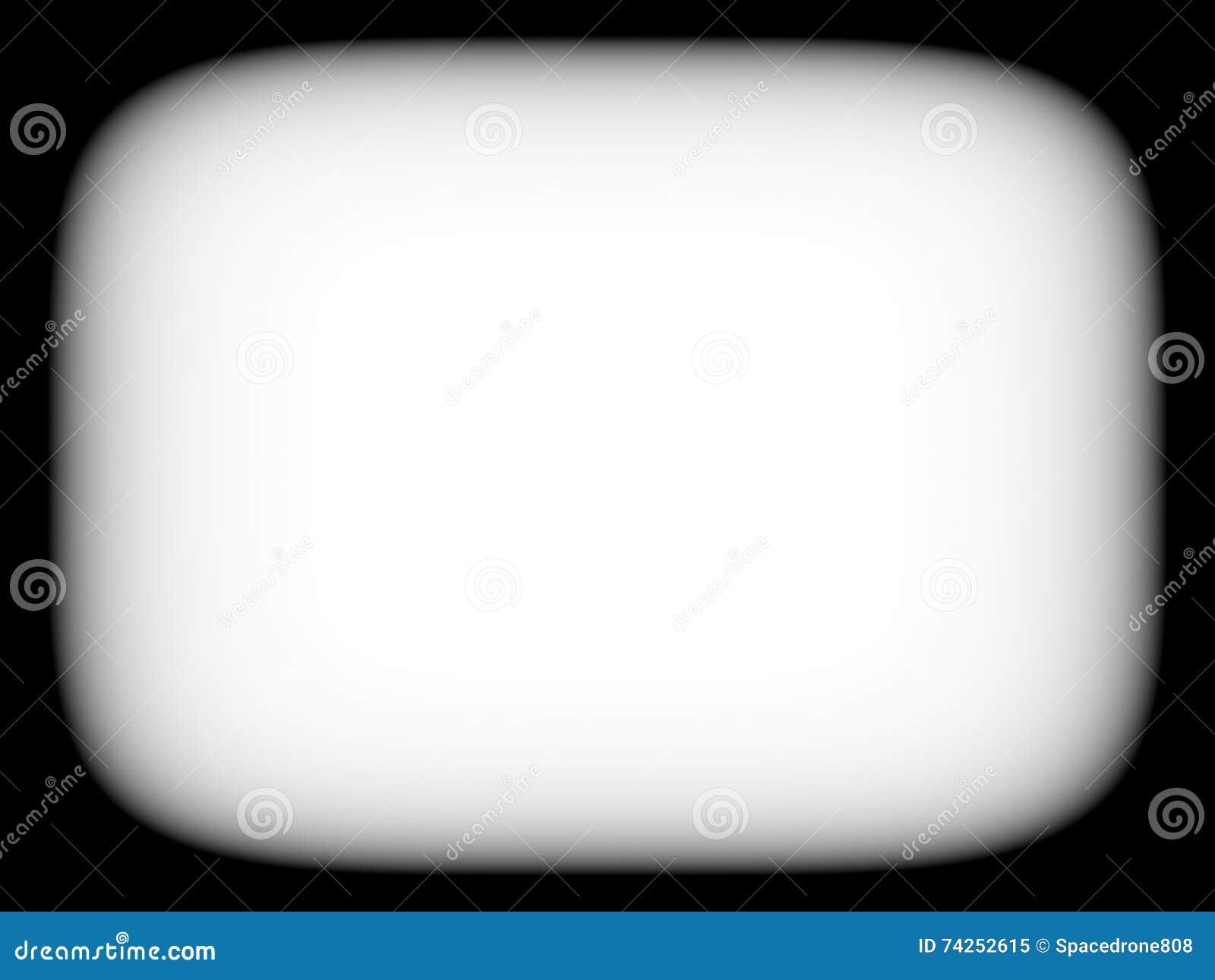 Горизонтальное пустое пустое черно-белое ретро abstracti экрана ТВ