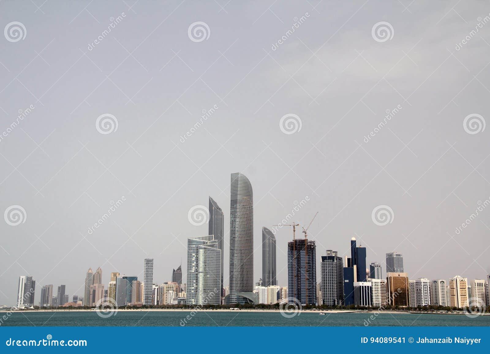 Горизонт Абу-Даби современный