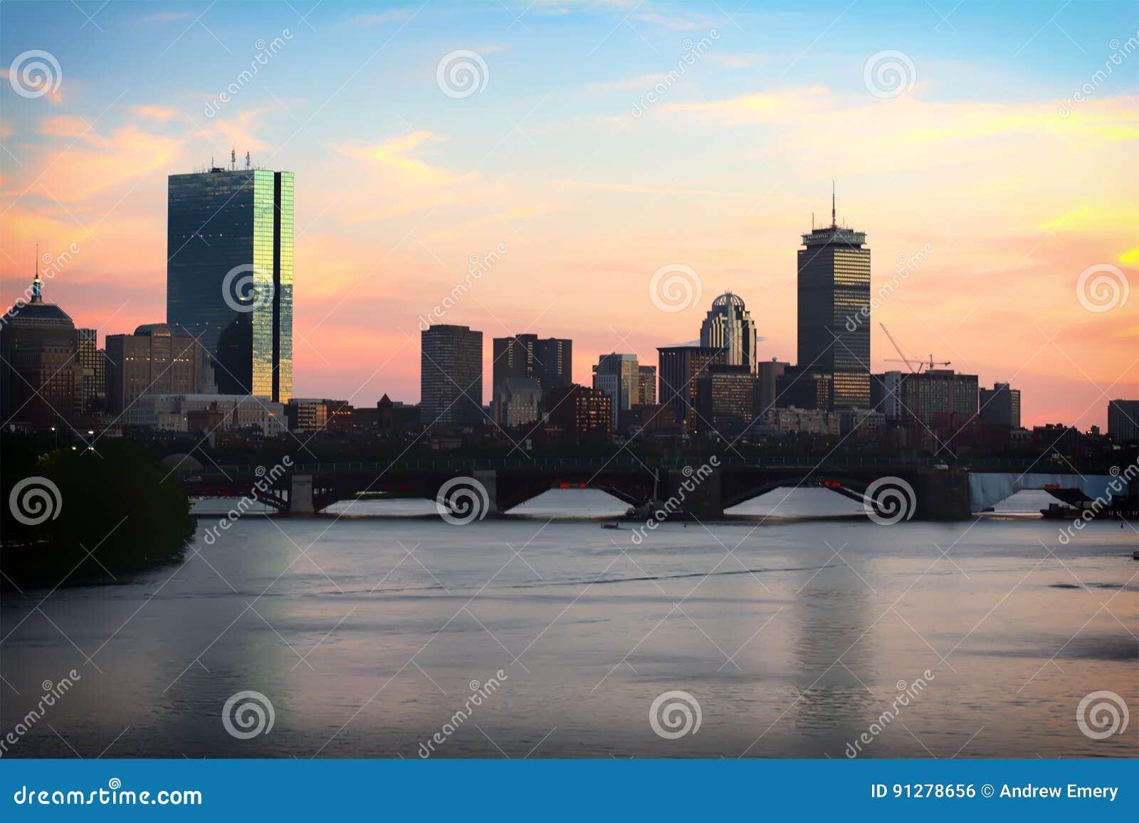 Горизонт Бостона на Sunsey