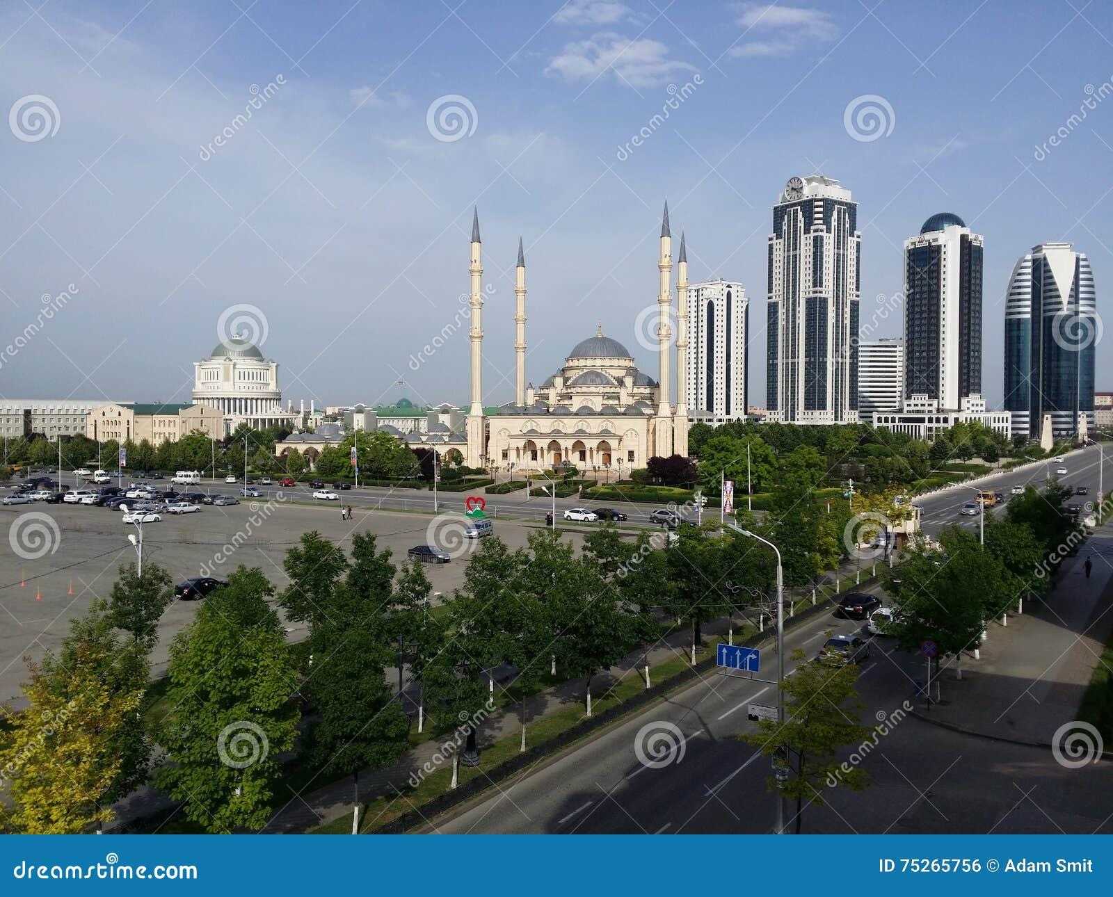 Горизонт города Грозного - Чечня