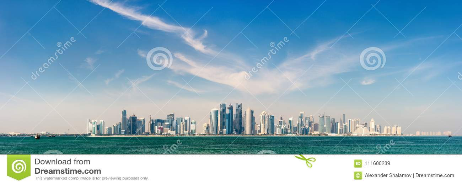 Горизонт Дохи Катара