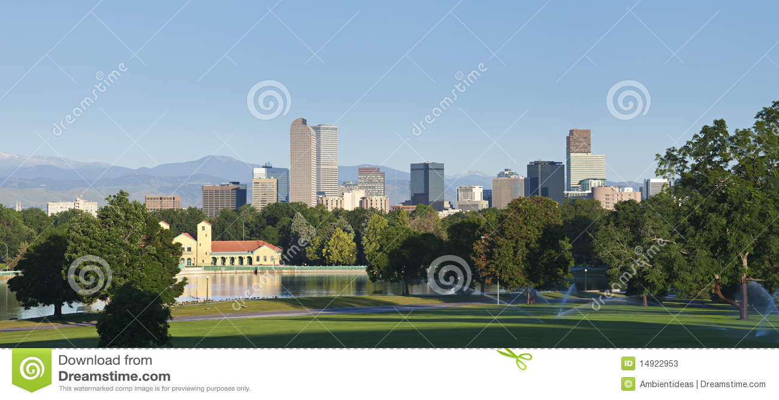 горизонт парка denver города