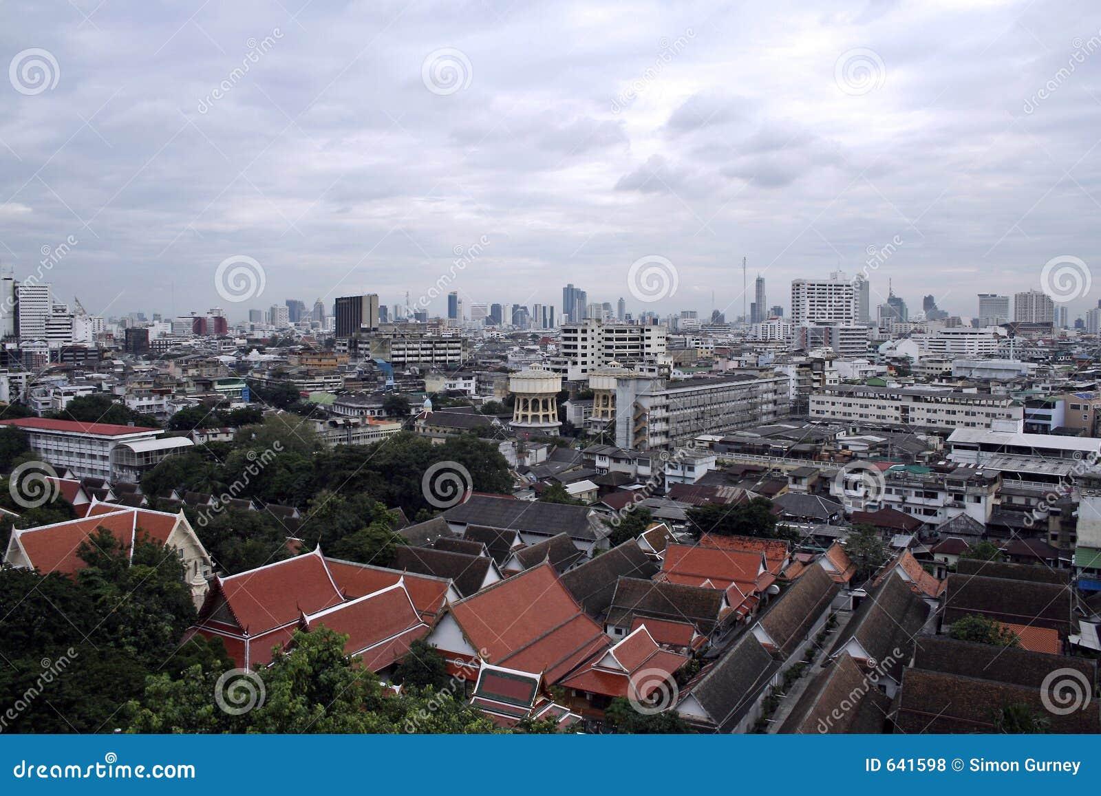 Download горизонт Таиланд bangkok стоковое фото. изображение насчитывающей таиланд - 641598