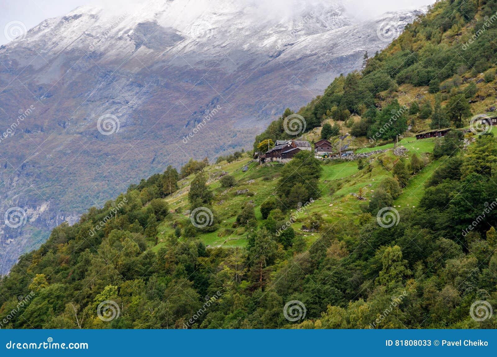 Гористая местность Норвегии