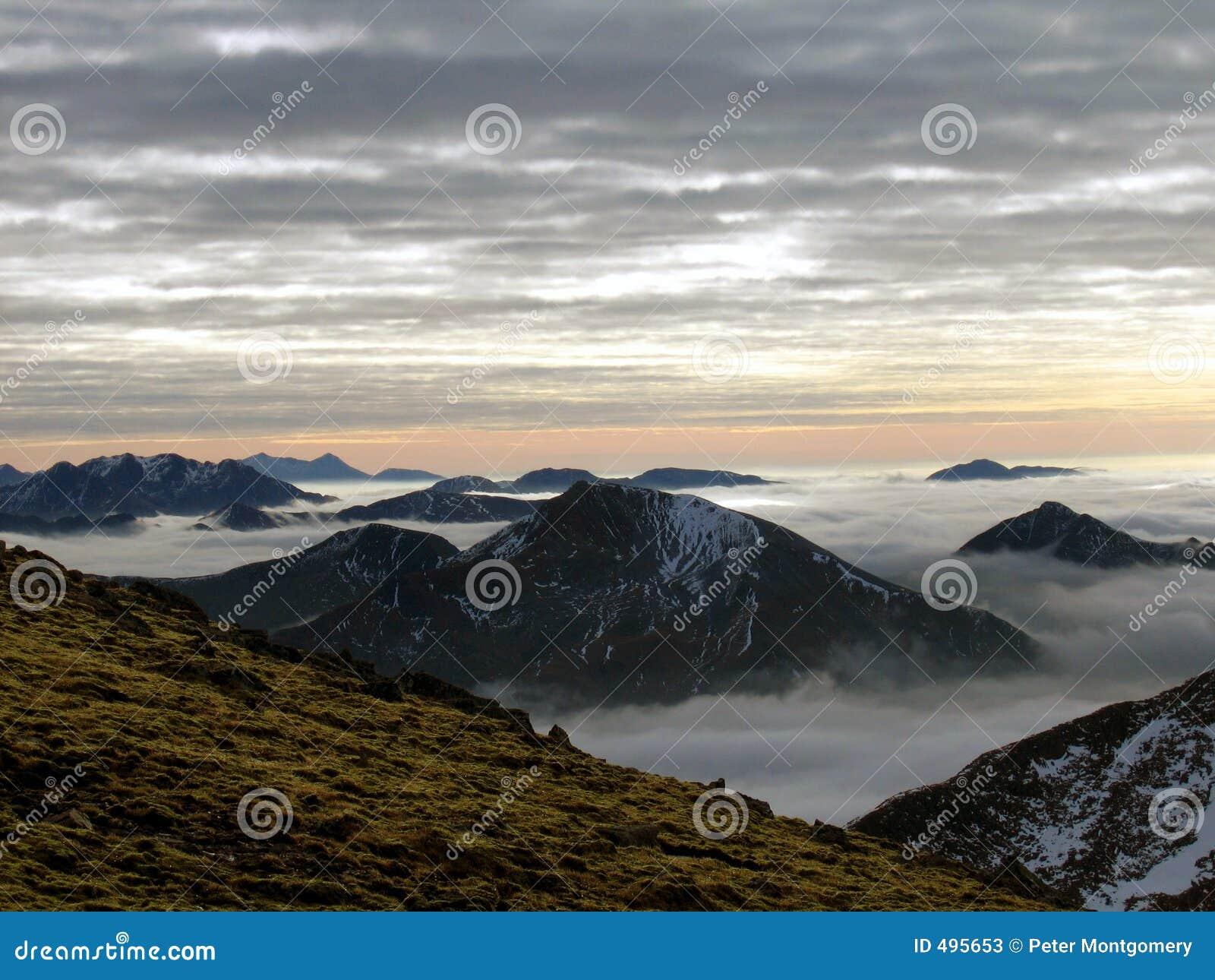 гористые местности шотландские