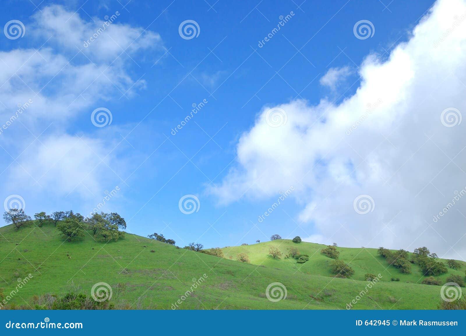 Download горный склон зелёный стоковое изображение. изображение насчитывающей зелёный - 642945