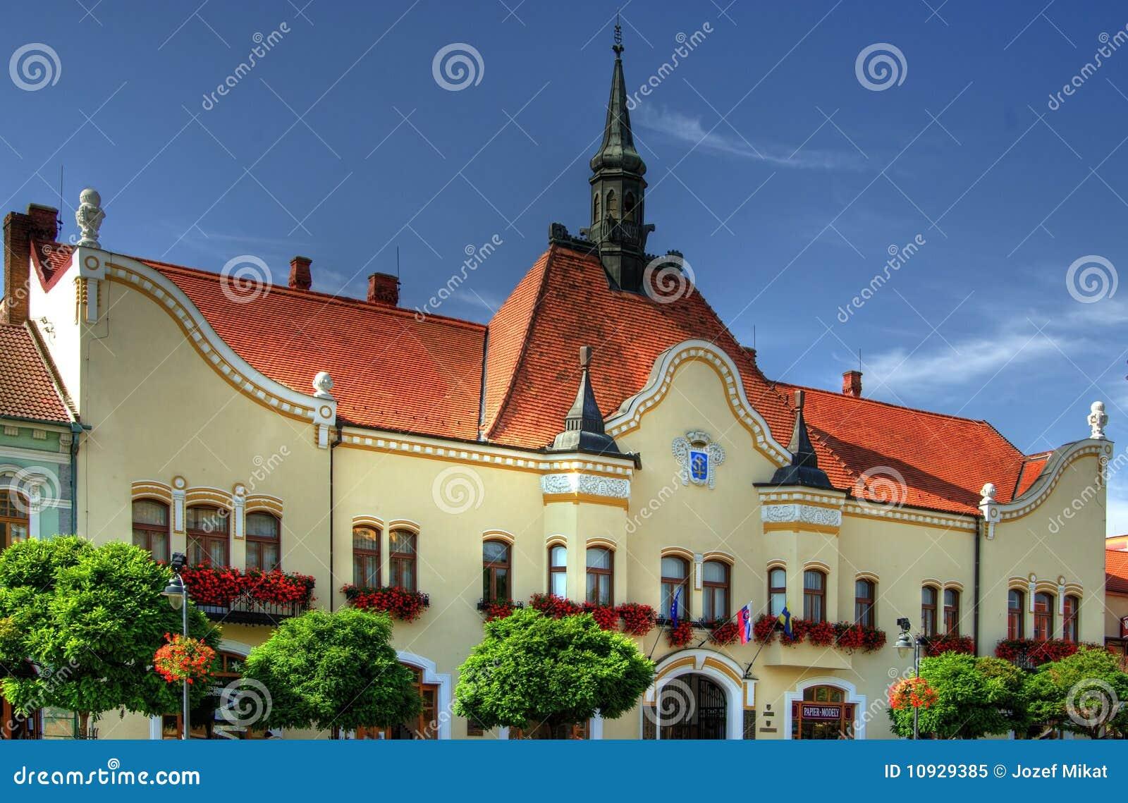 городок залы исторический