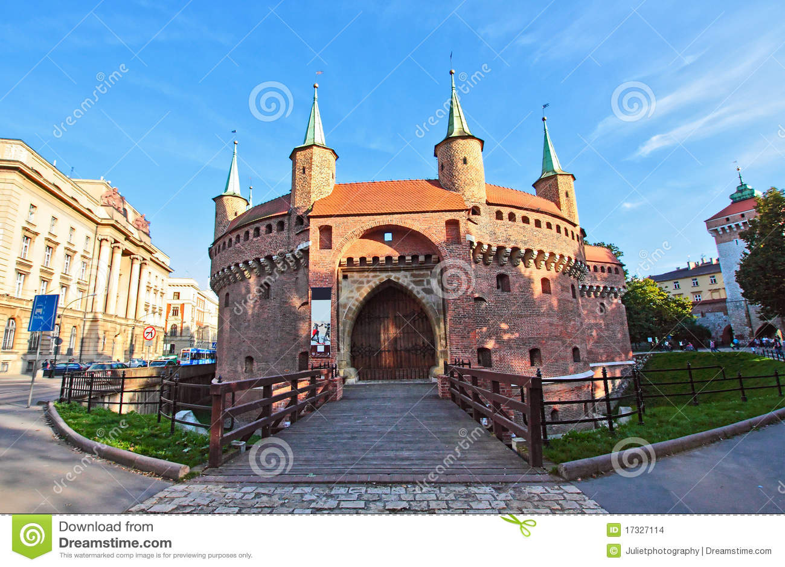 городок krakow старый