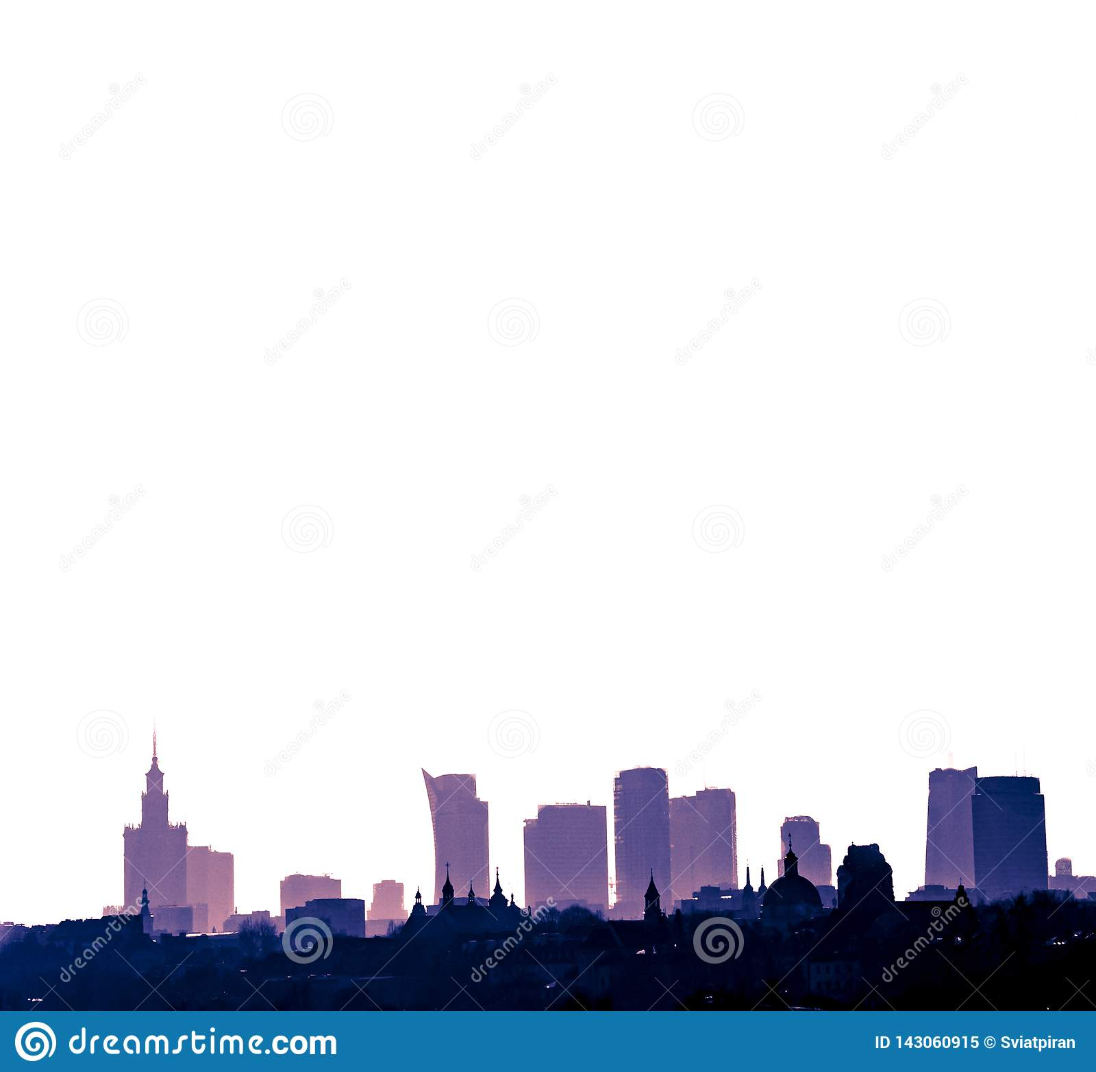 Город Варшавы столица Польши