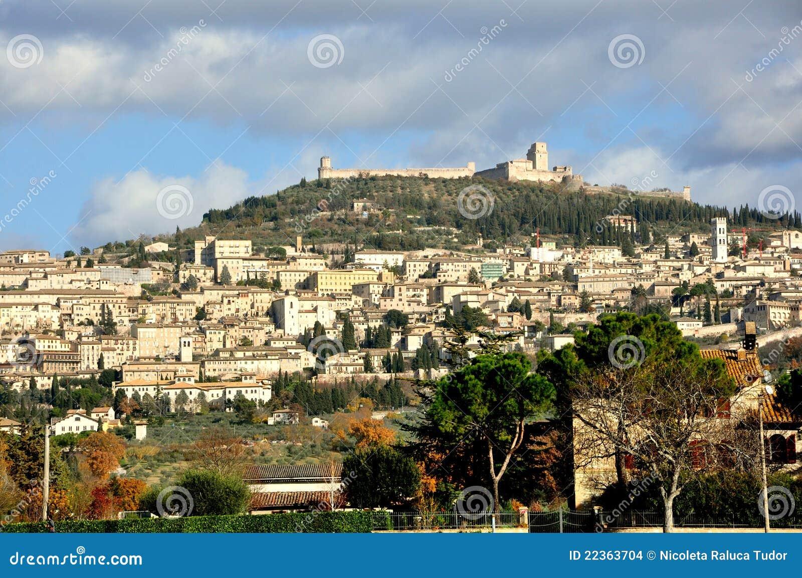 город Италия assisi