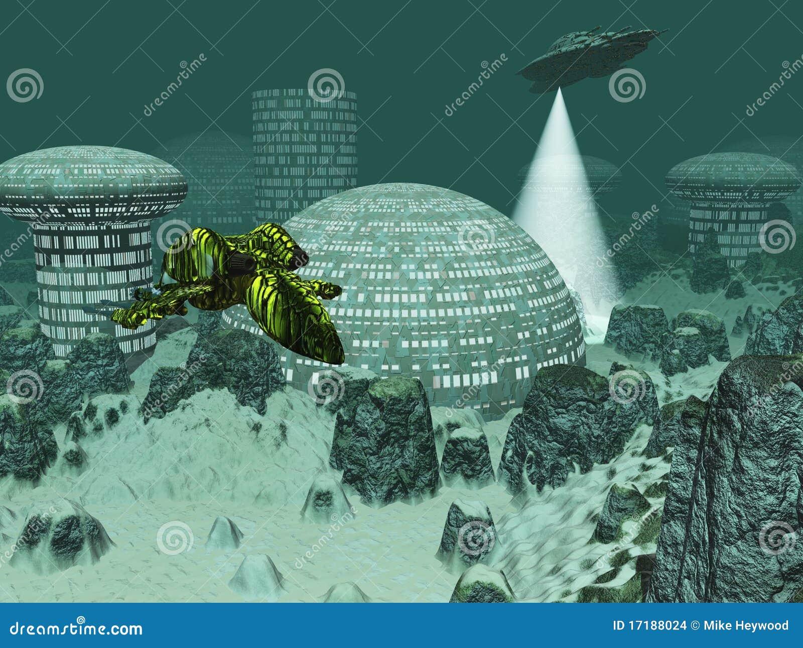 Картинки по запросу город под водой иллюстрации