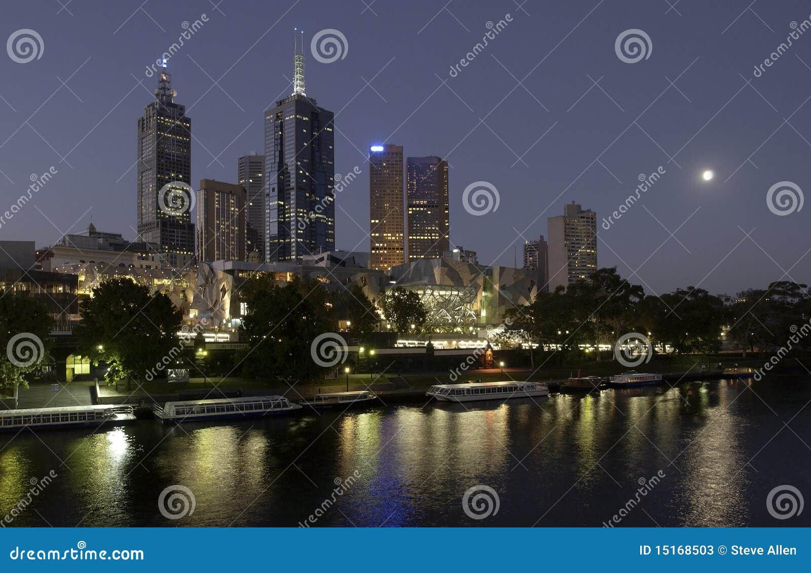город melbourne Австралии