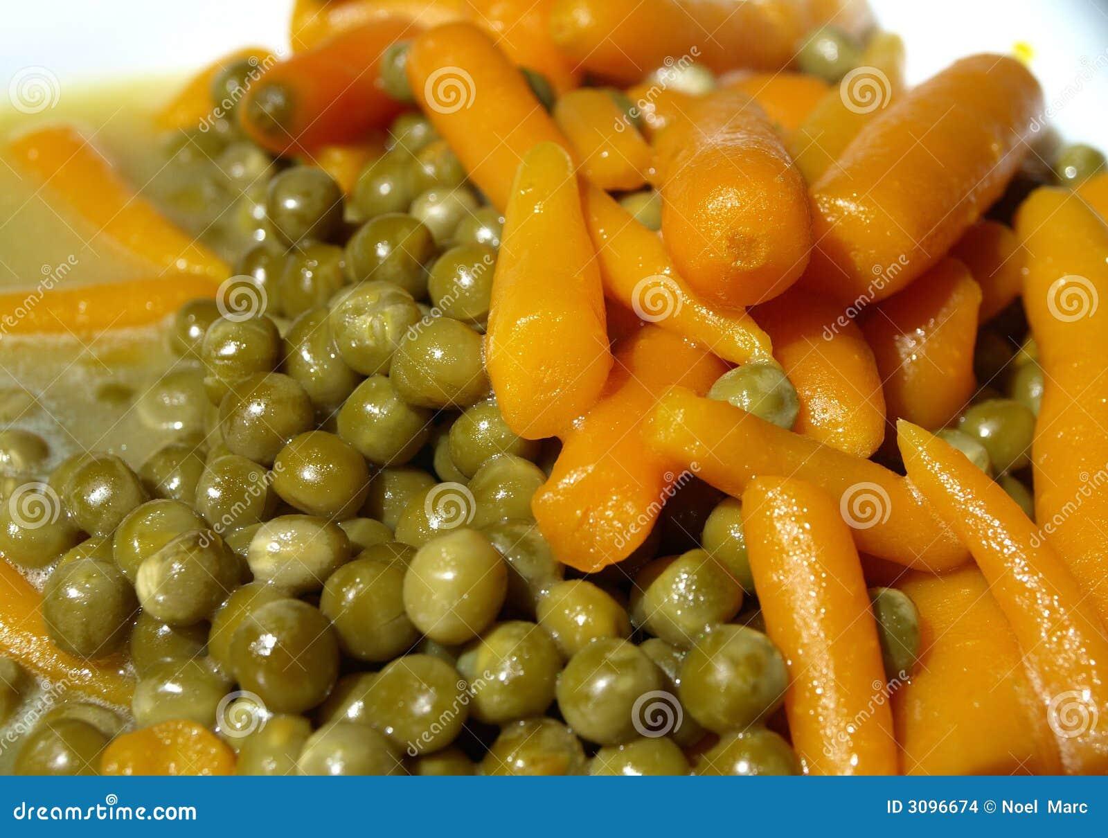 горох моркови малый
