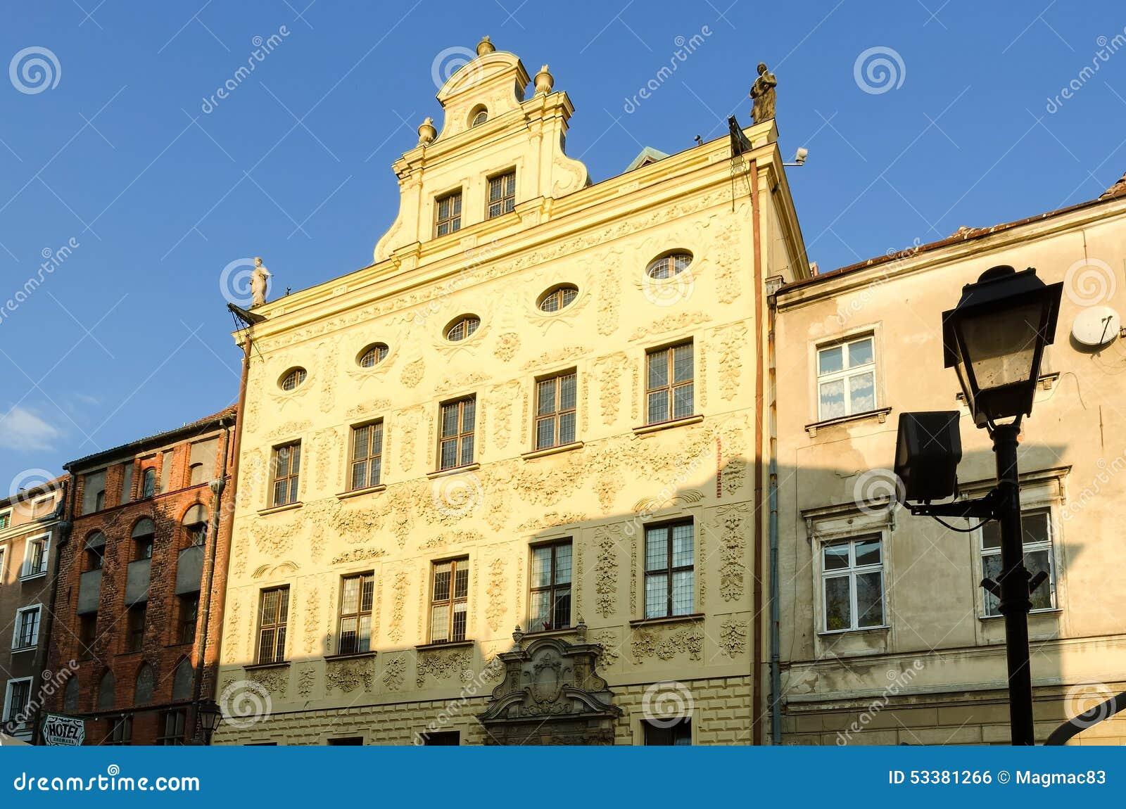 городок Польши torun залы старый