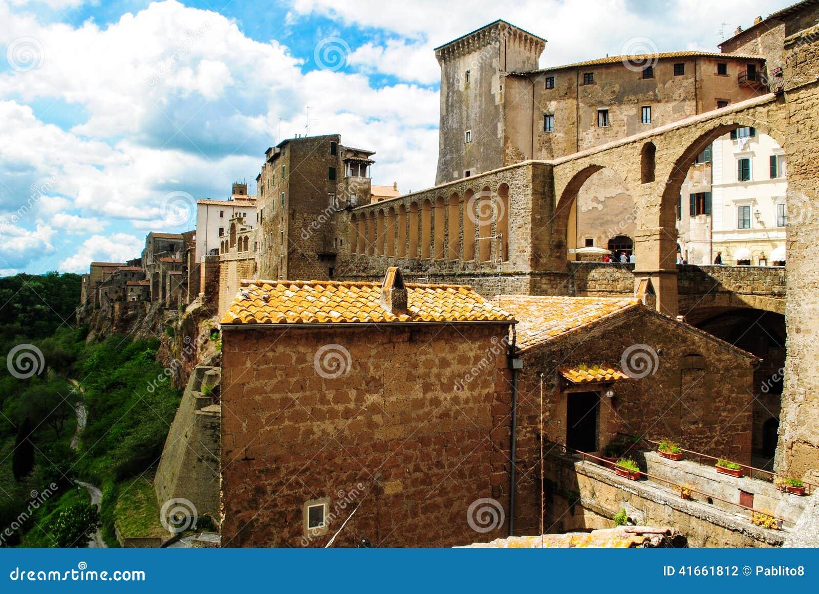 Городок Pitigliano