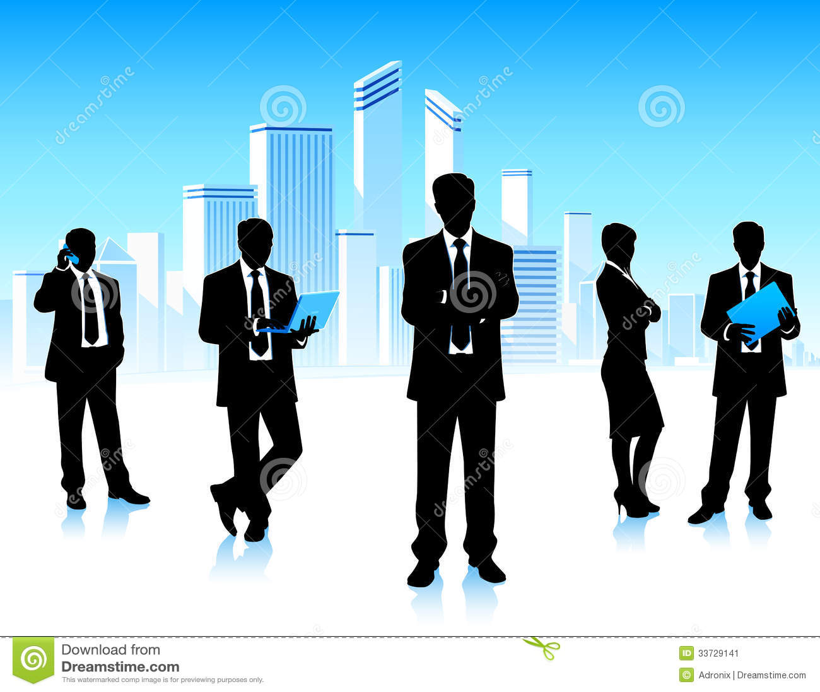 Городские бизнесмены