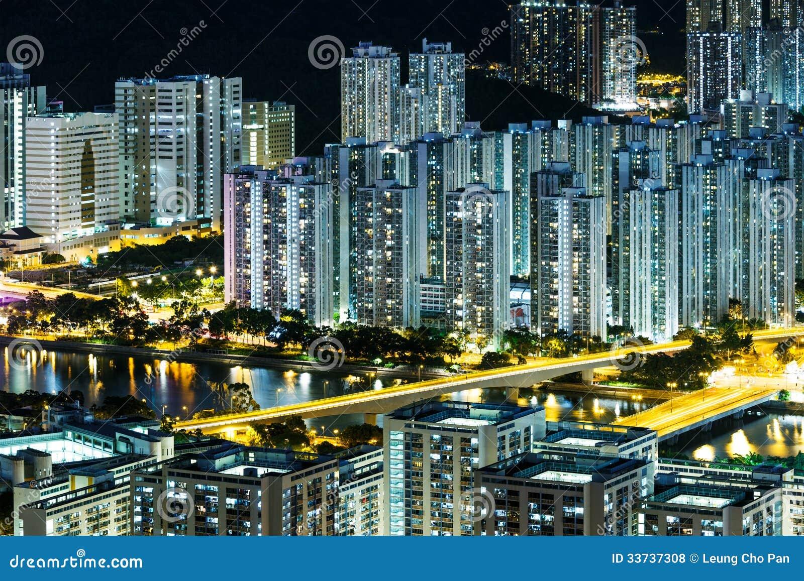Городской пейзаж в Гонконге